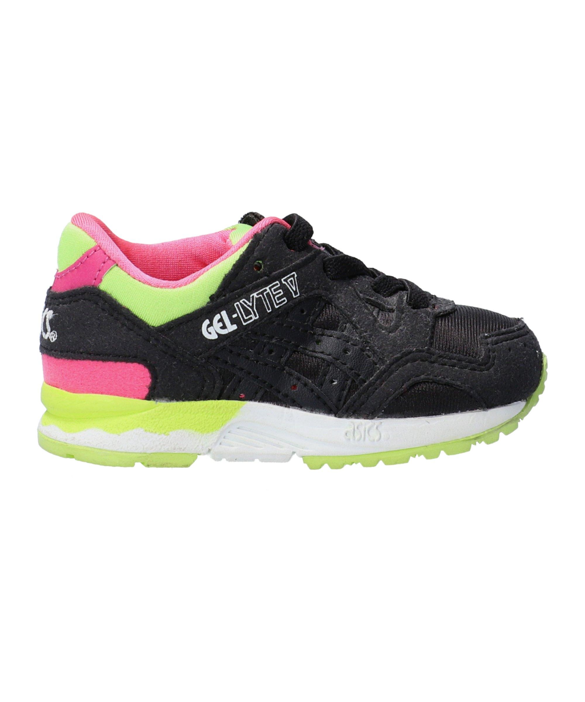 Asics TIger Gel-Lyte V TS Sneaker Kids Schwarz F9090 - Schwarz