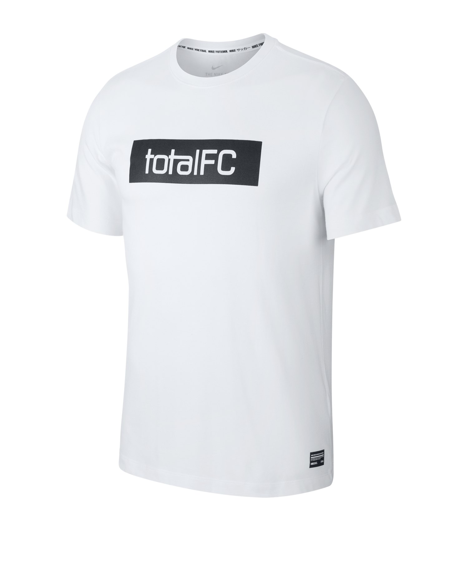 Nike F.C. Dri-FIT Trainingshirt kurzarm Weiss F100 - weiss