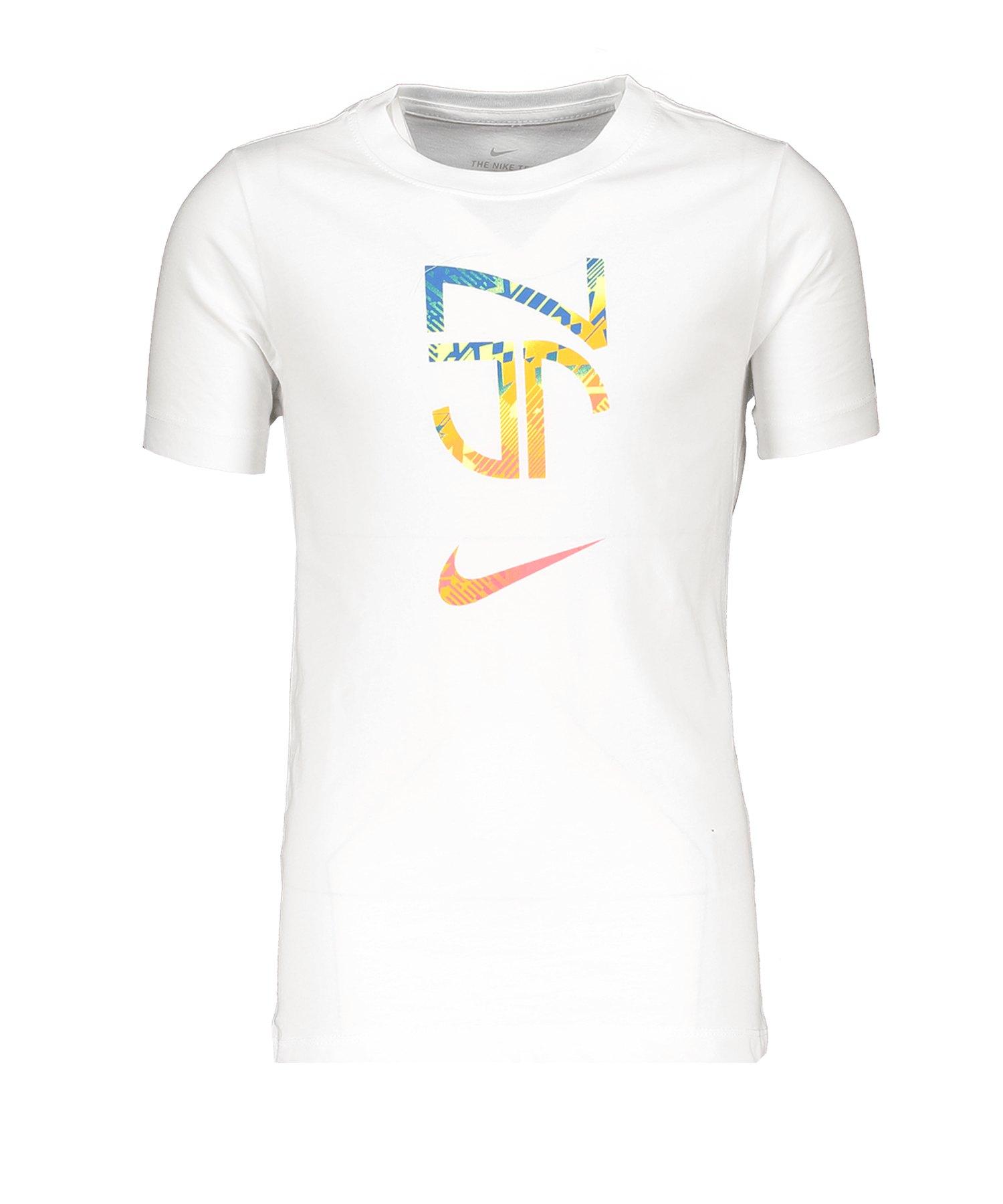 Nike Neymar Hero Tee T-Shirt Kids Weiss F100 - weiss