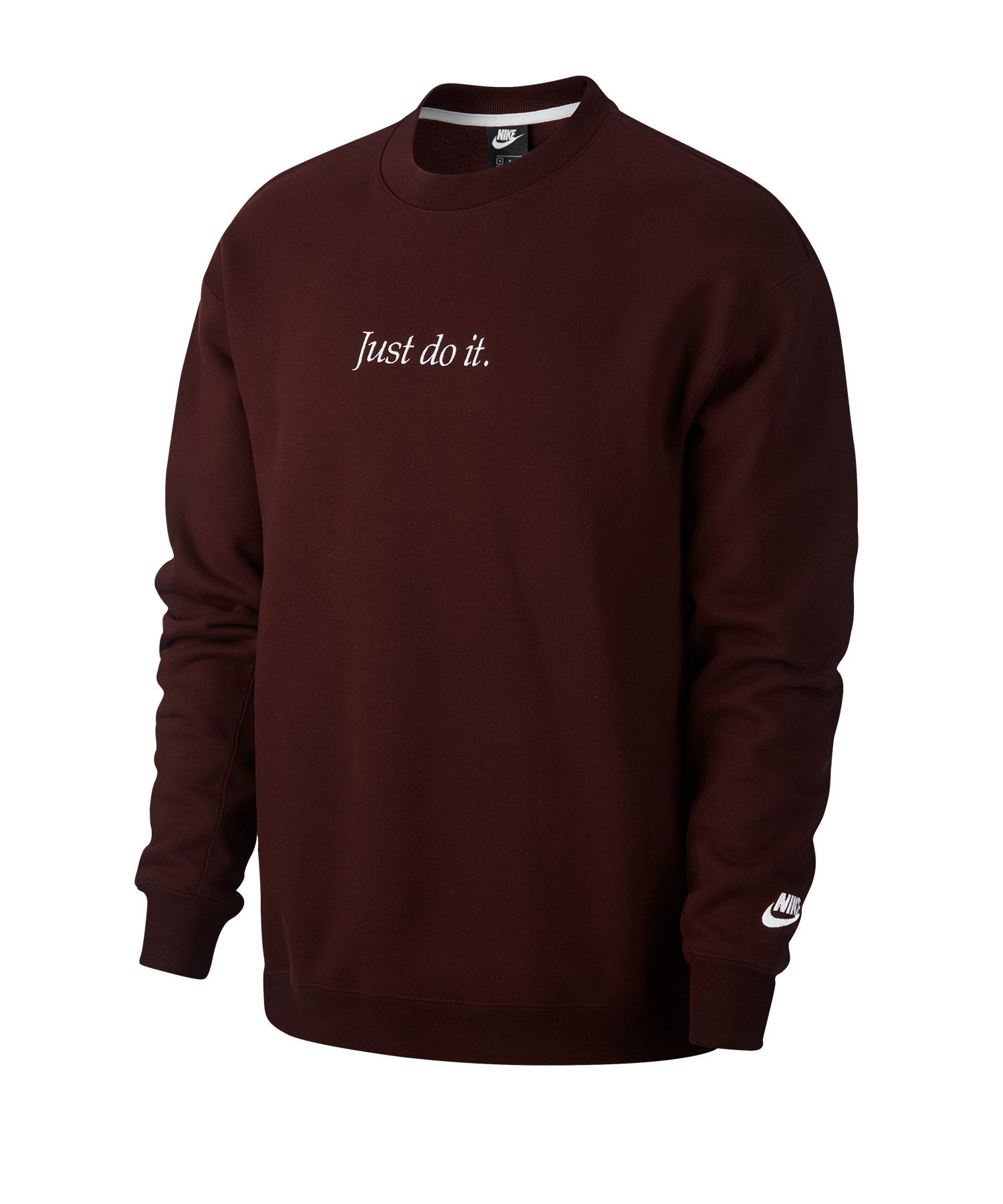 Nike JDI Sweatshirt Fleece Rot F233 - rot