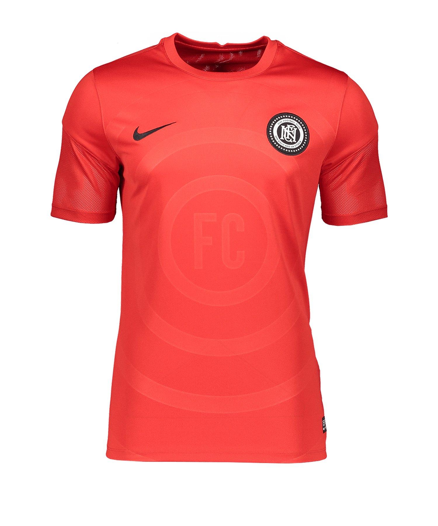 Nike F.C.Trainingsshirt Home Rot F637 - rot