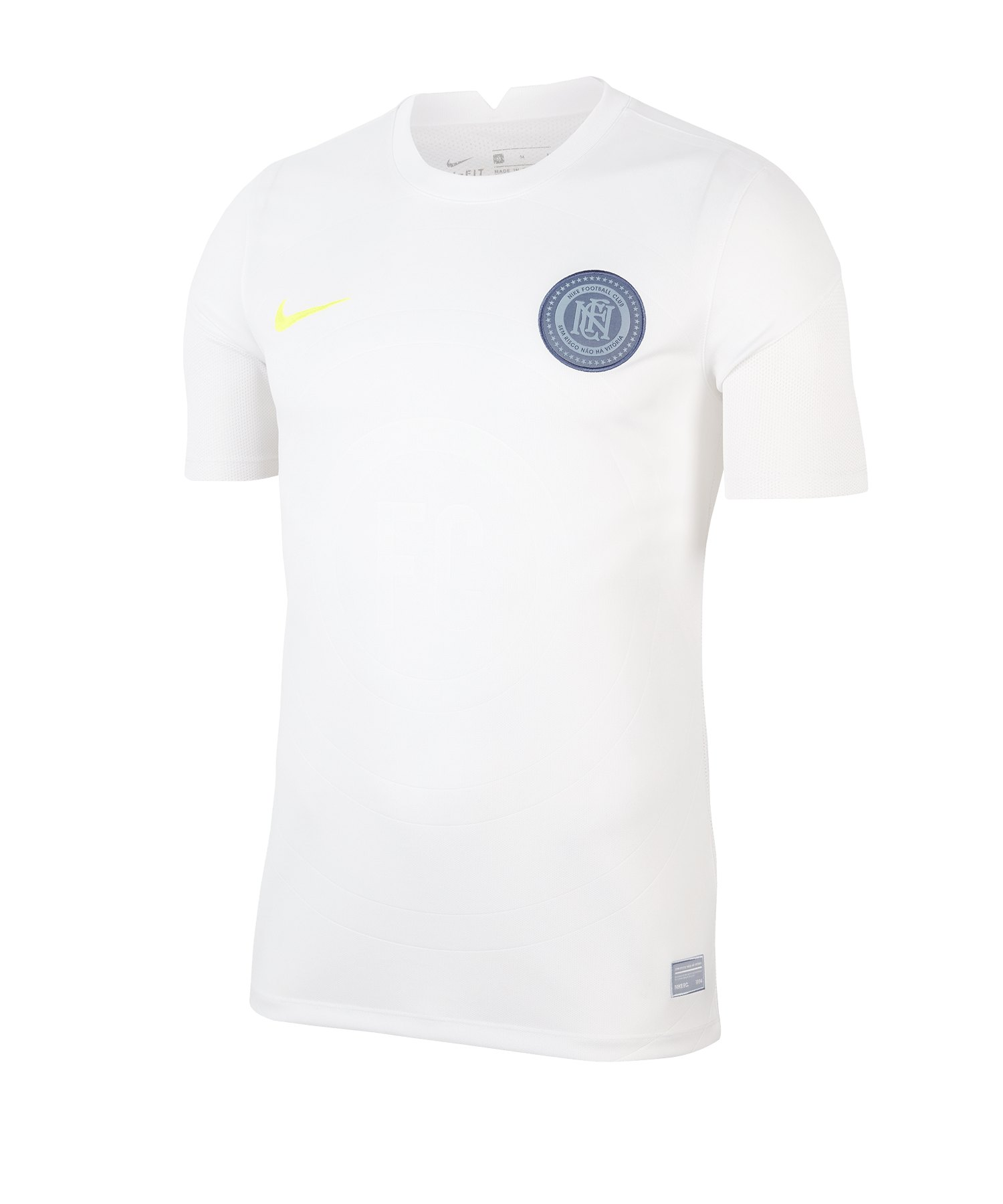 Nike F.C. Trainingsshirt Home Weiss F100 - weiss