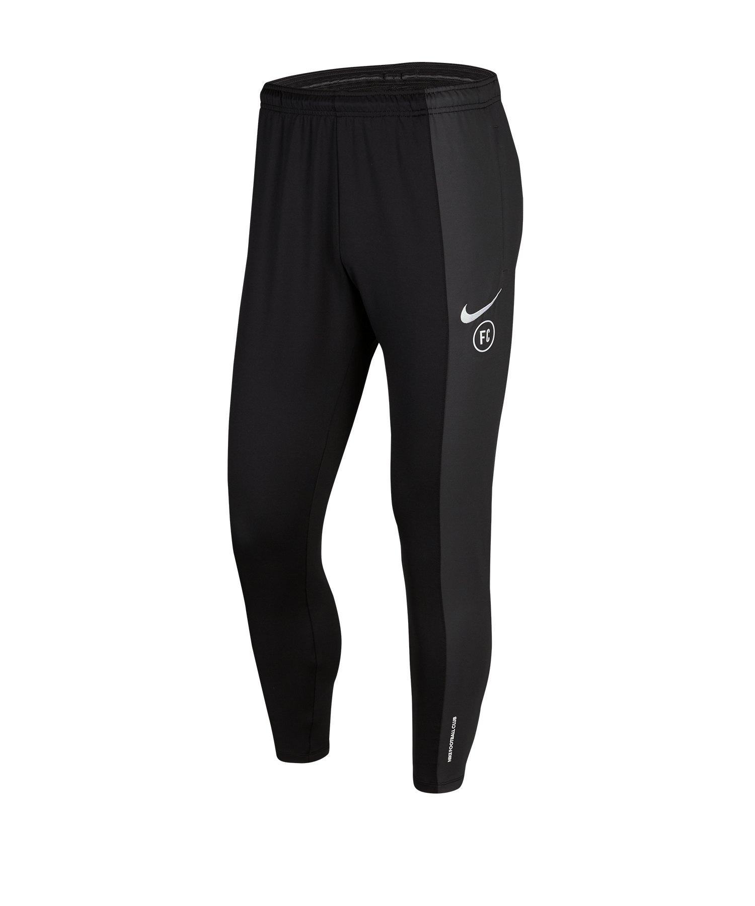 Nike F.C. Trainingshose Schwarz F010 - schwarz