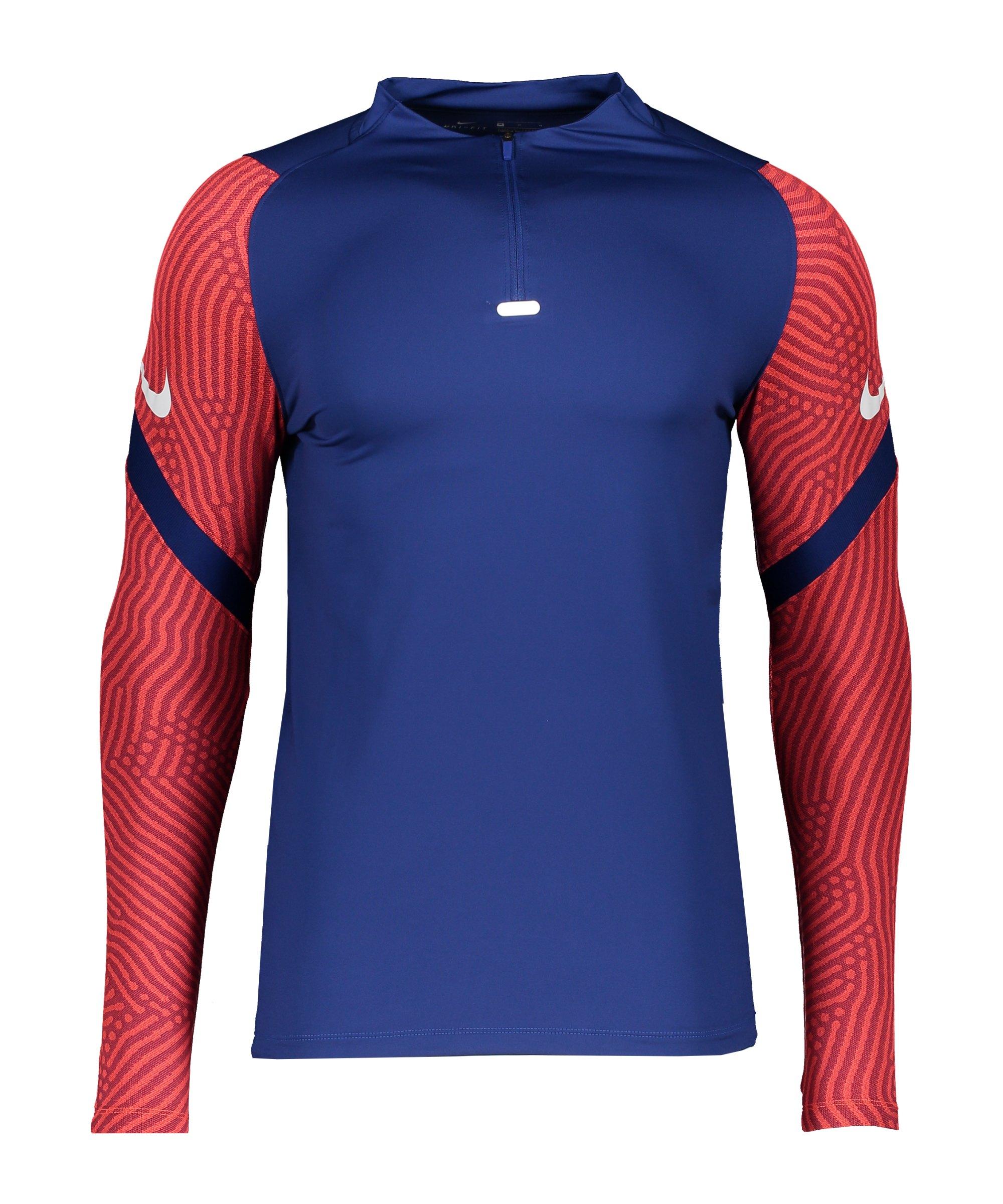 Nike Strike 1/4 Zip Sweatshirt Blau F455 - blau