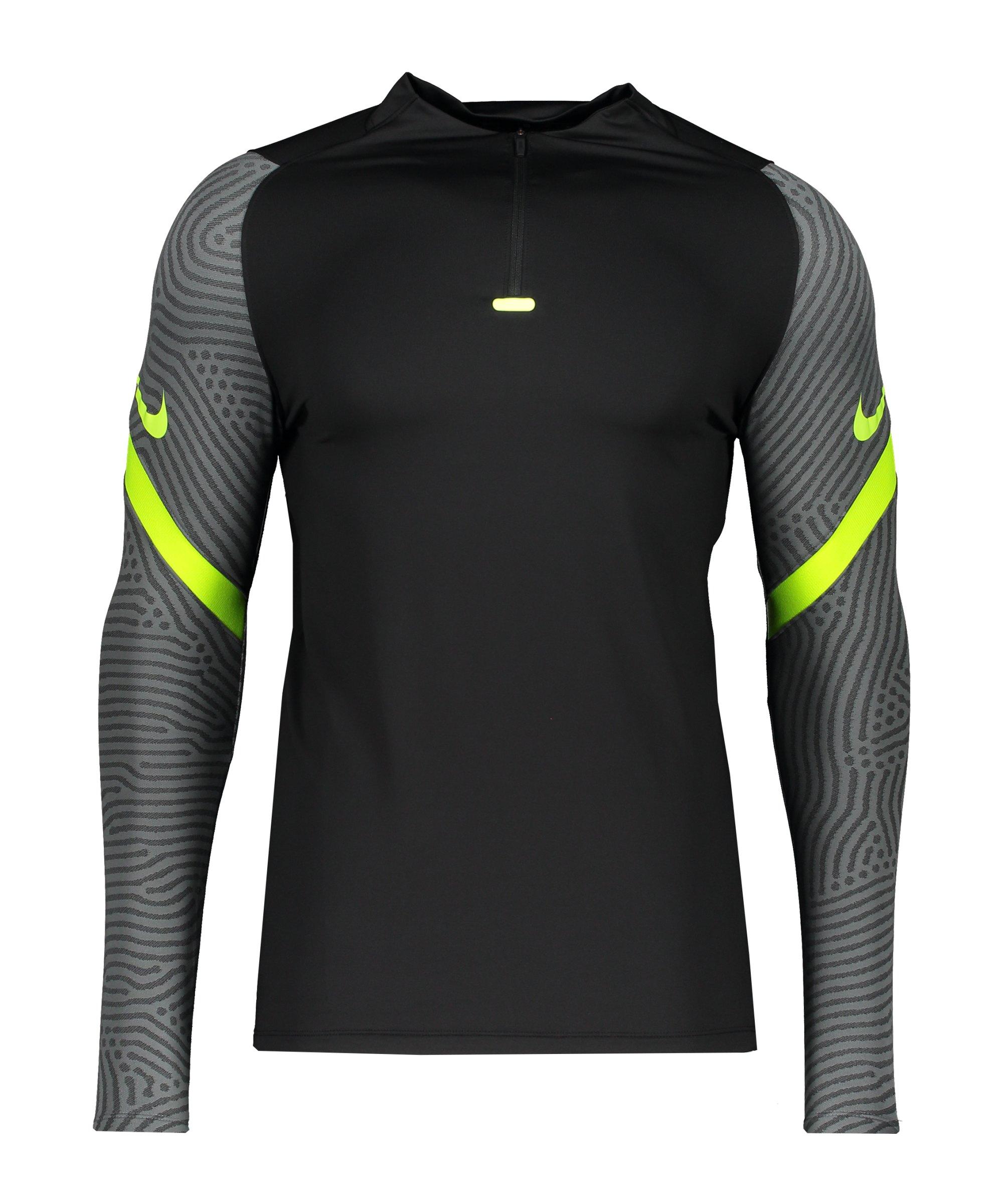 Nike Strike 1/4 Zip Sweatshirt Schwarz F011 - schwarz