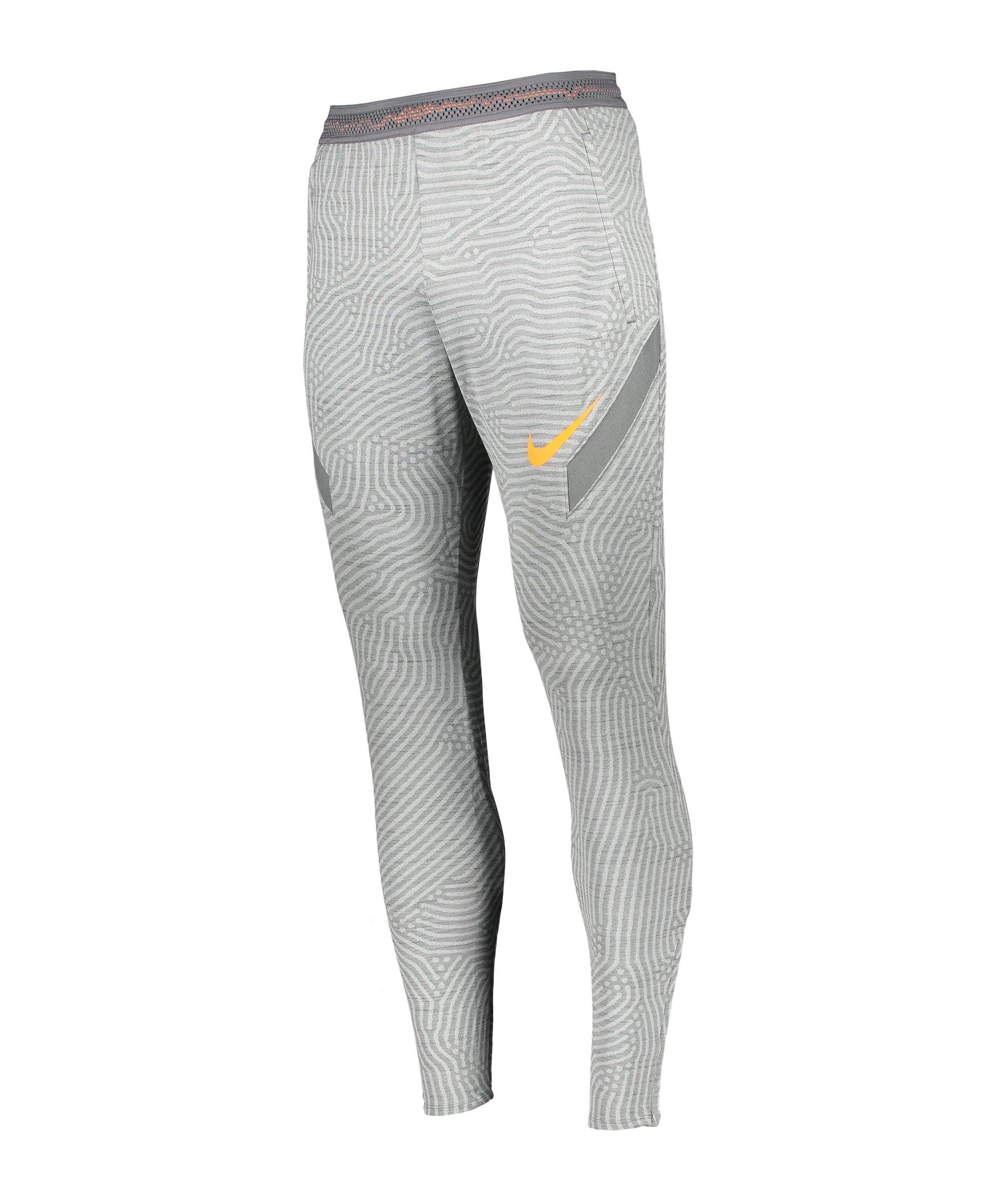 Nike Strike Trainingshose Grau F084 - grau