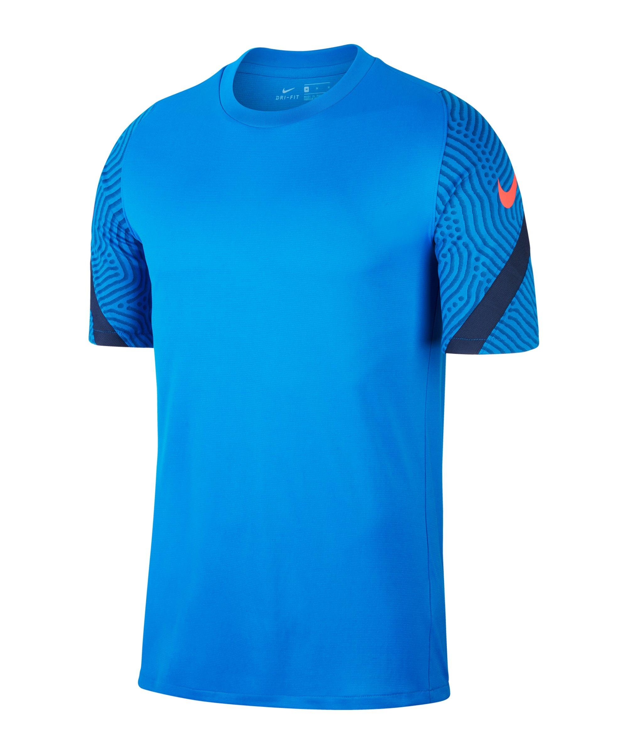 Nike Strike Shirt kurzarm Blau F427 - blau
