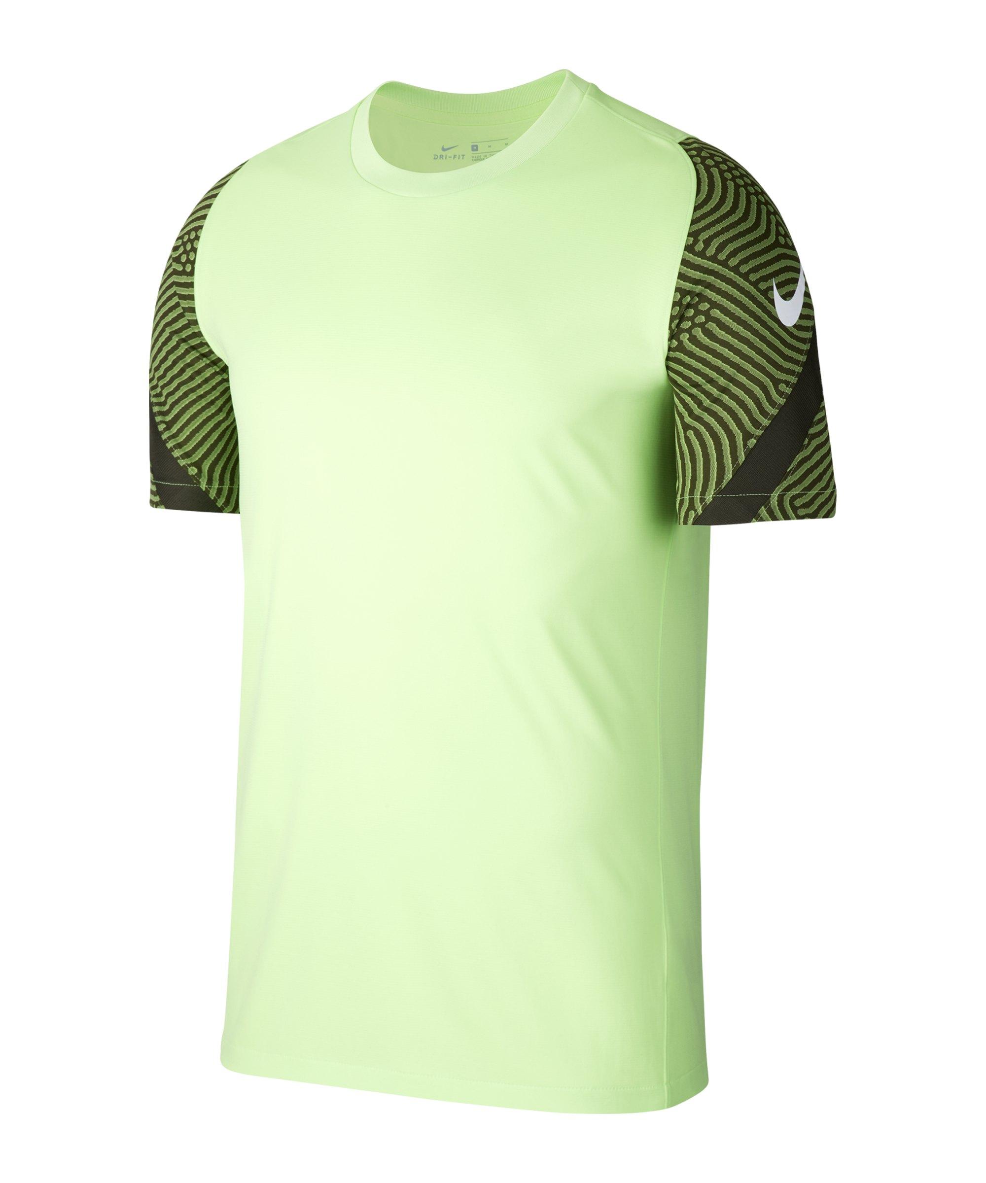 Nike Strike Shirt kurzarm Grün F358 - gruen