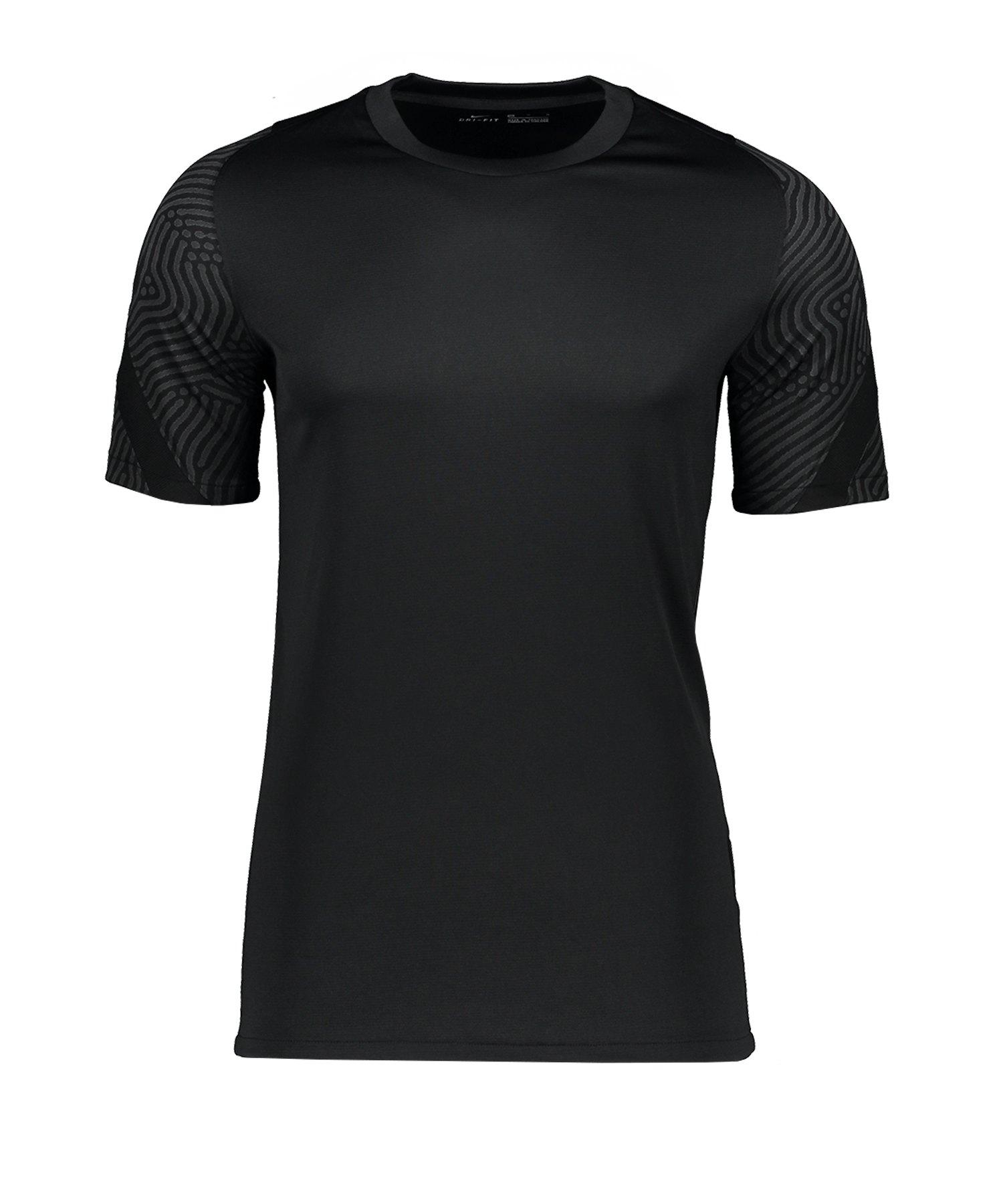 Nike Strike Shirt kurzarm Schwarz F010 - schwarz