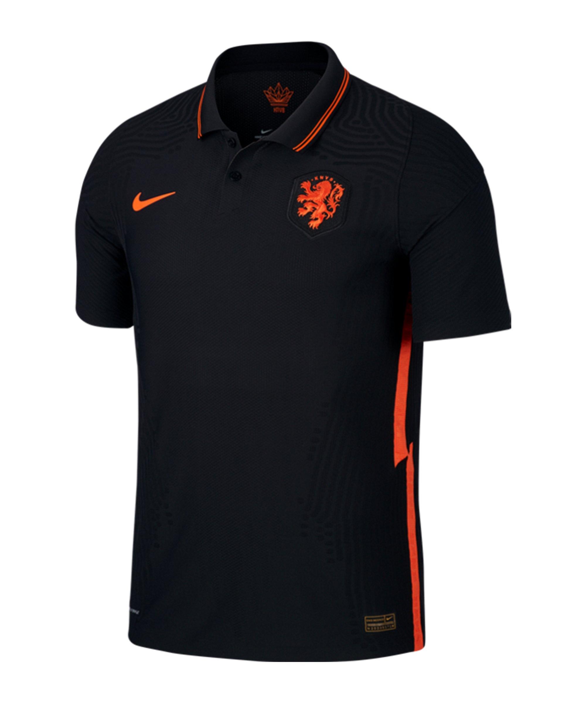 Nike Niederlande Auth. Trikot Away EM 2021 F010 - schwarz
