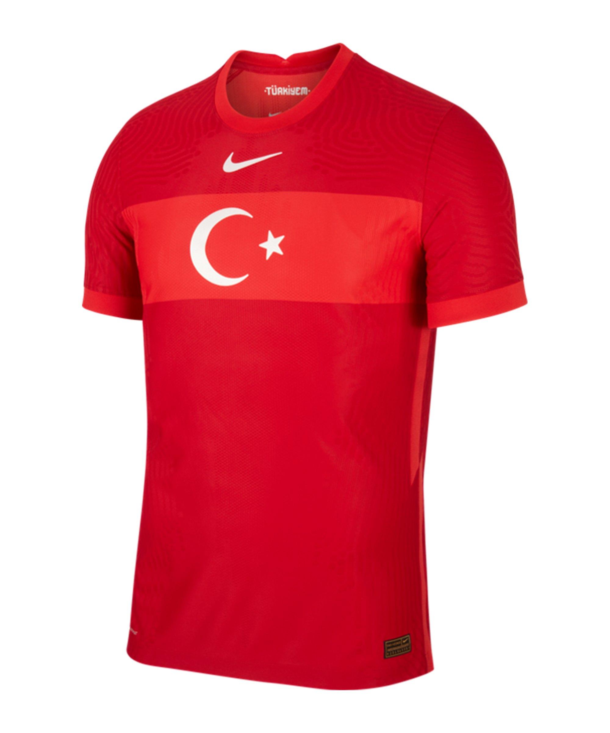 Nike Türkei Auth. Trikot Away EM 2021 F687 - rot