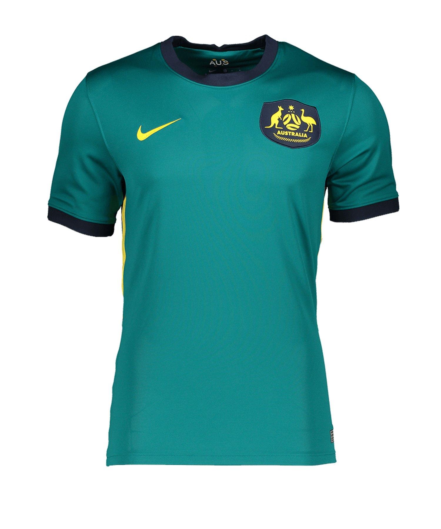 Nike Australien Trikot Away 2020 Grün F356 - blau