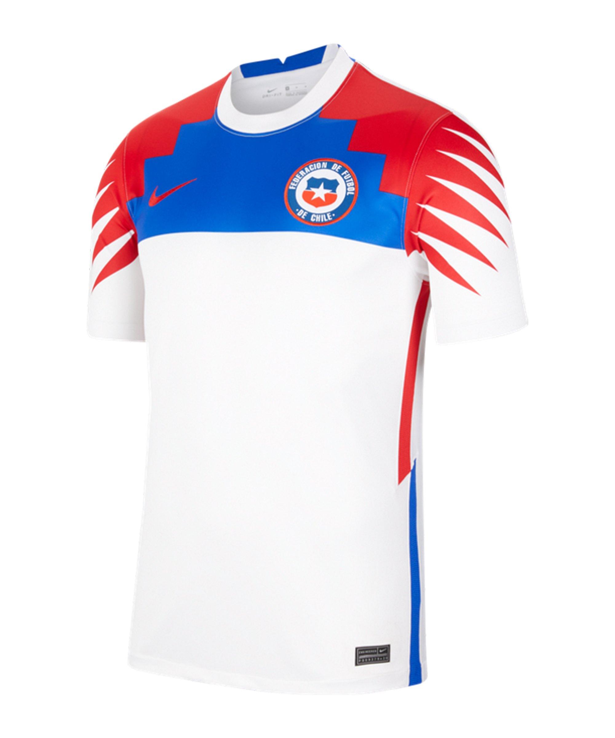 Nike Chile Trikot Away 2020 Weiss F100 - weiss