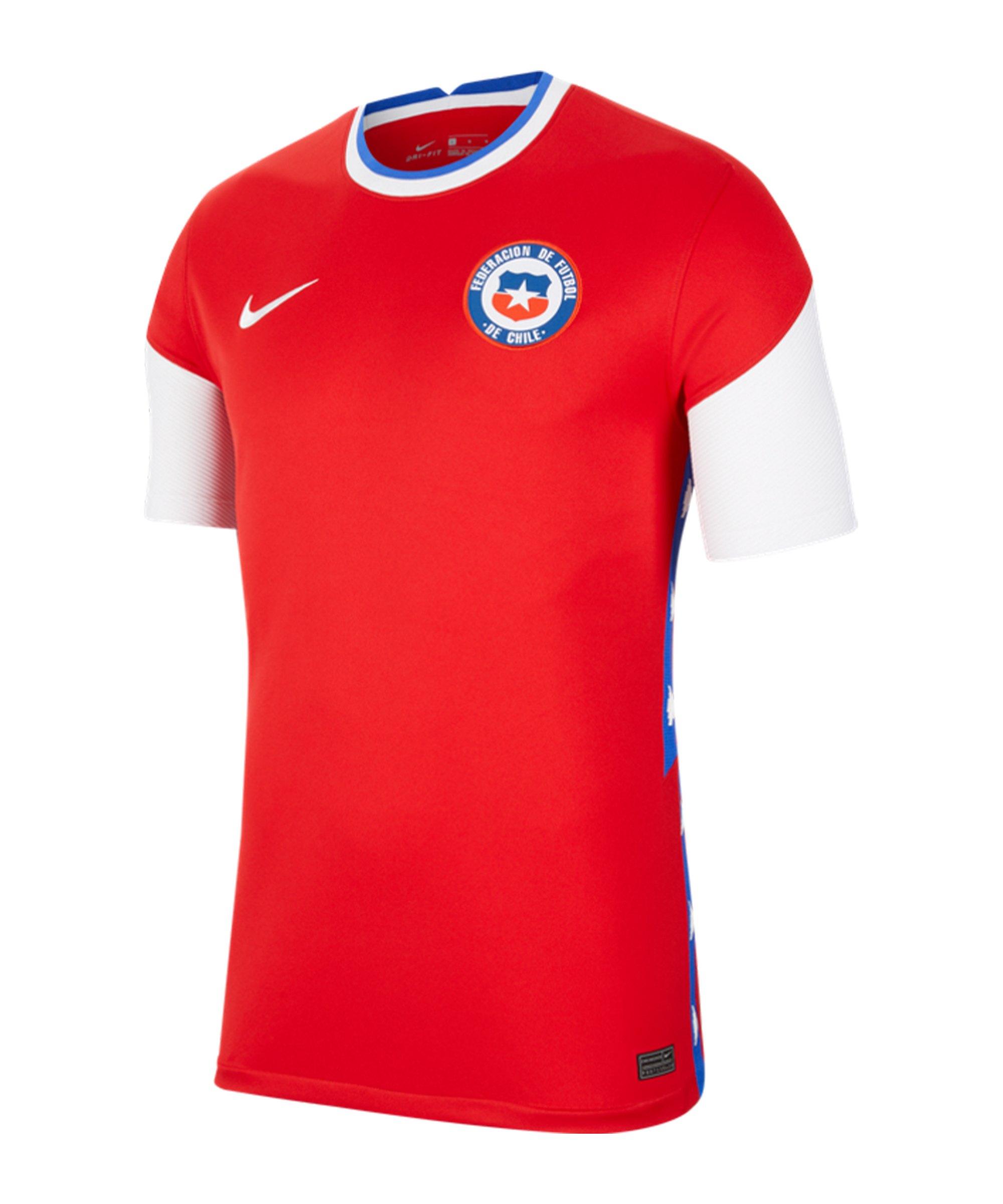 Nike Chile Trikot Home 2020 Rot F657 - rot
