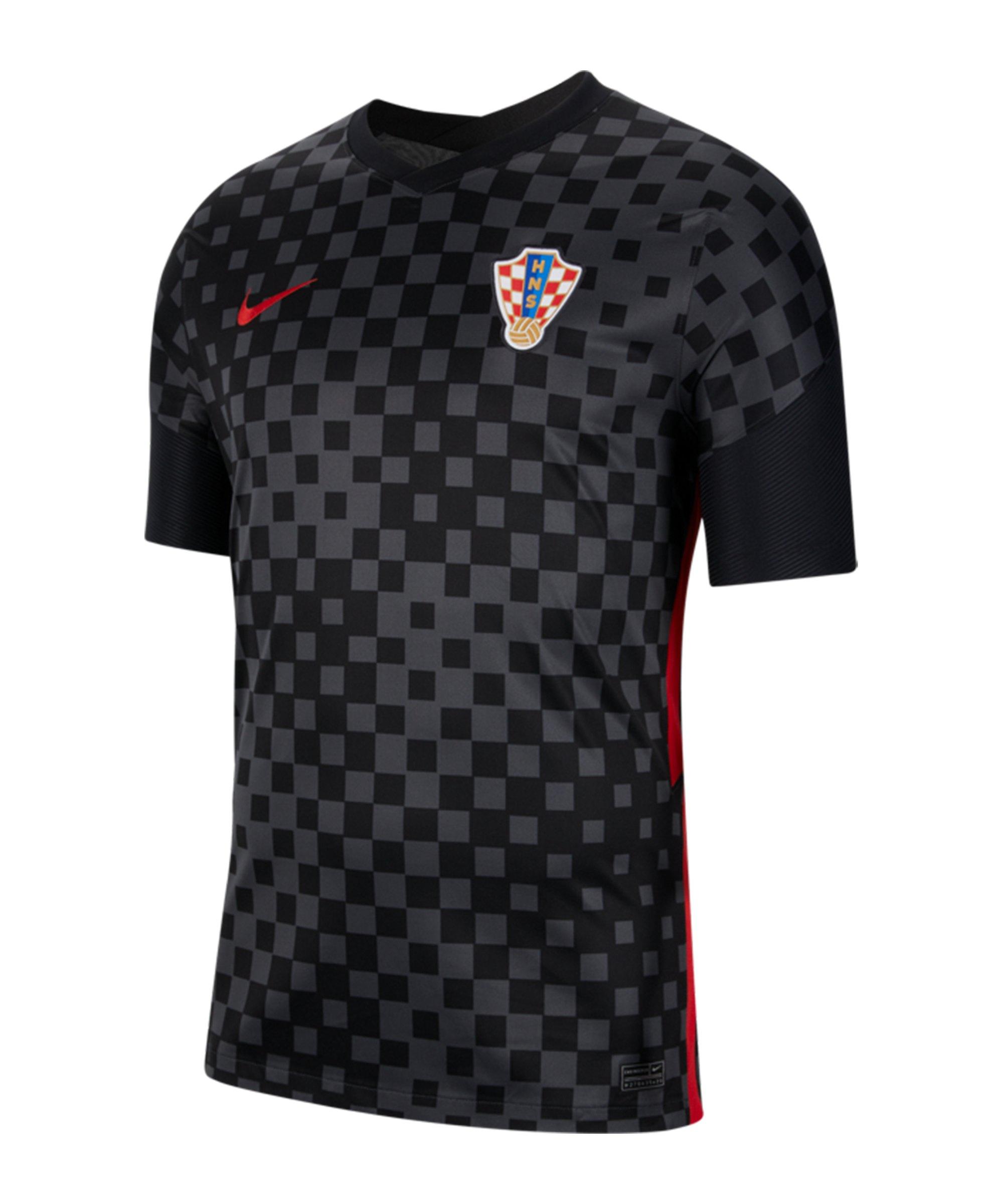 Nike Kroatien Trikot Away EM 2020 Grau F060 - grau