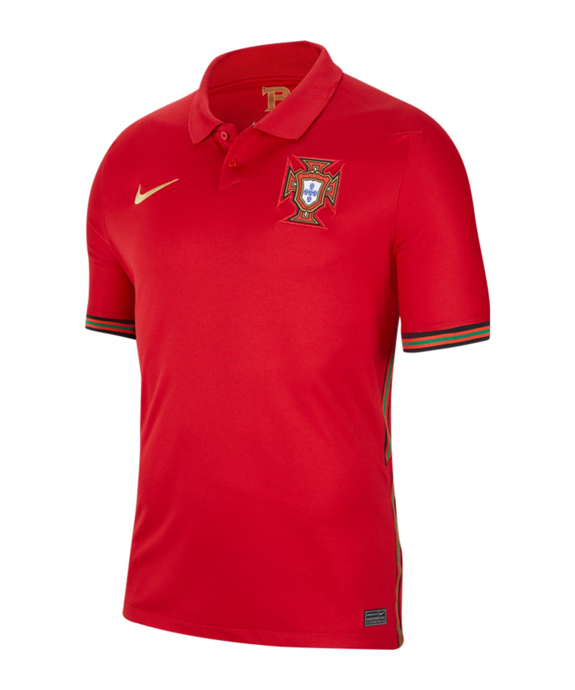 Nike Portugal Trikot Home EM 2020 F687 - rot