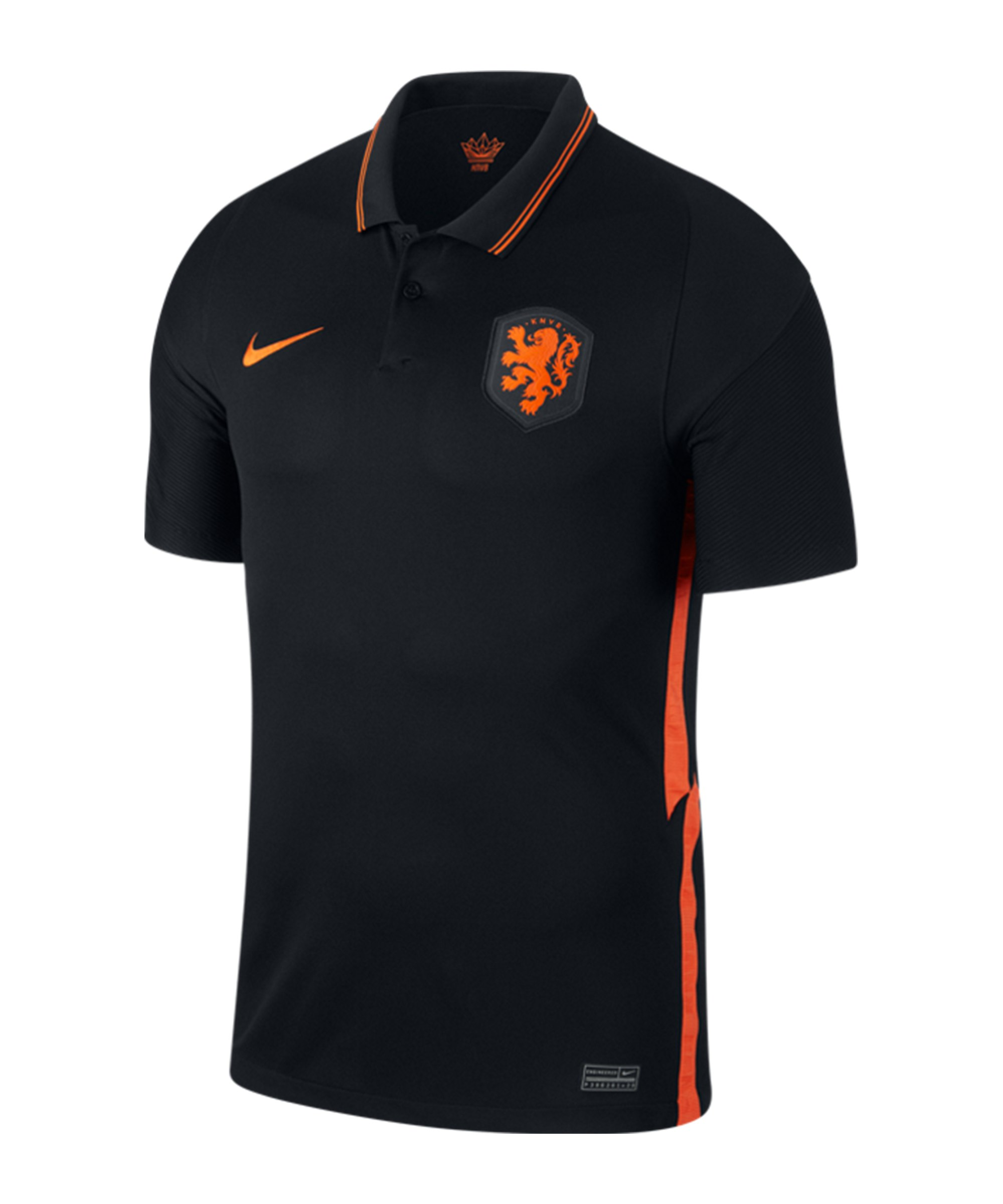 Nike Niederlande Trikot Away EM 2020 Schwarz F010 - schwarz