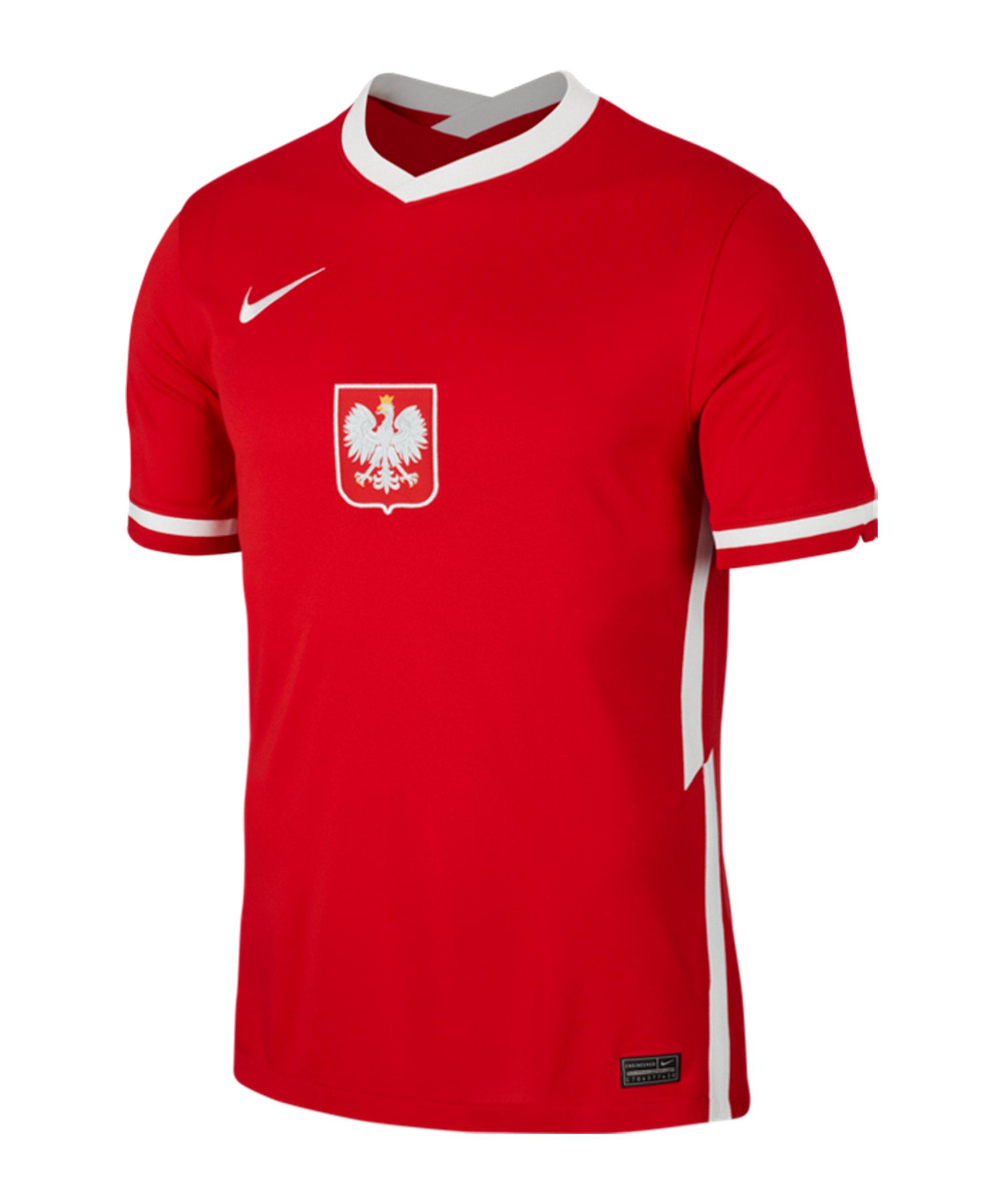 Nike Polen Trikot Away EM 2020 Rot F688 - rot