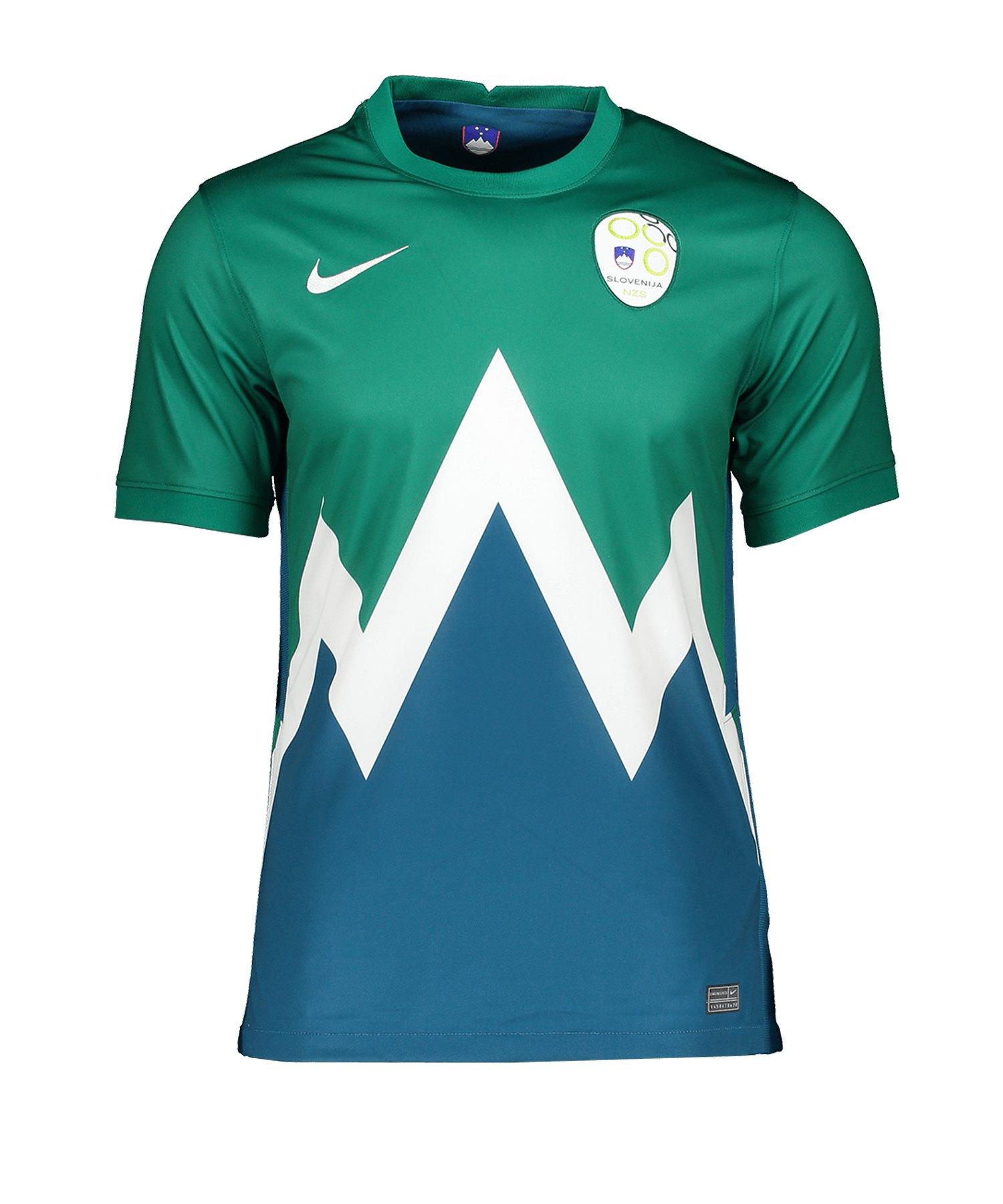 Nike Slowenien Trikot Away EM 2021 Grün F340 - gruen