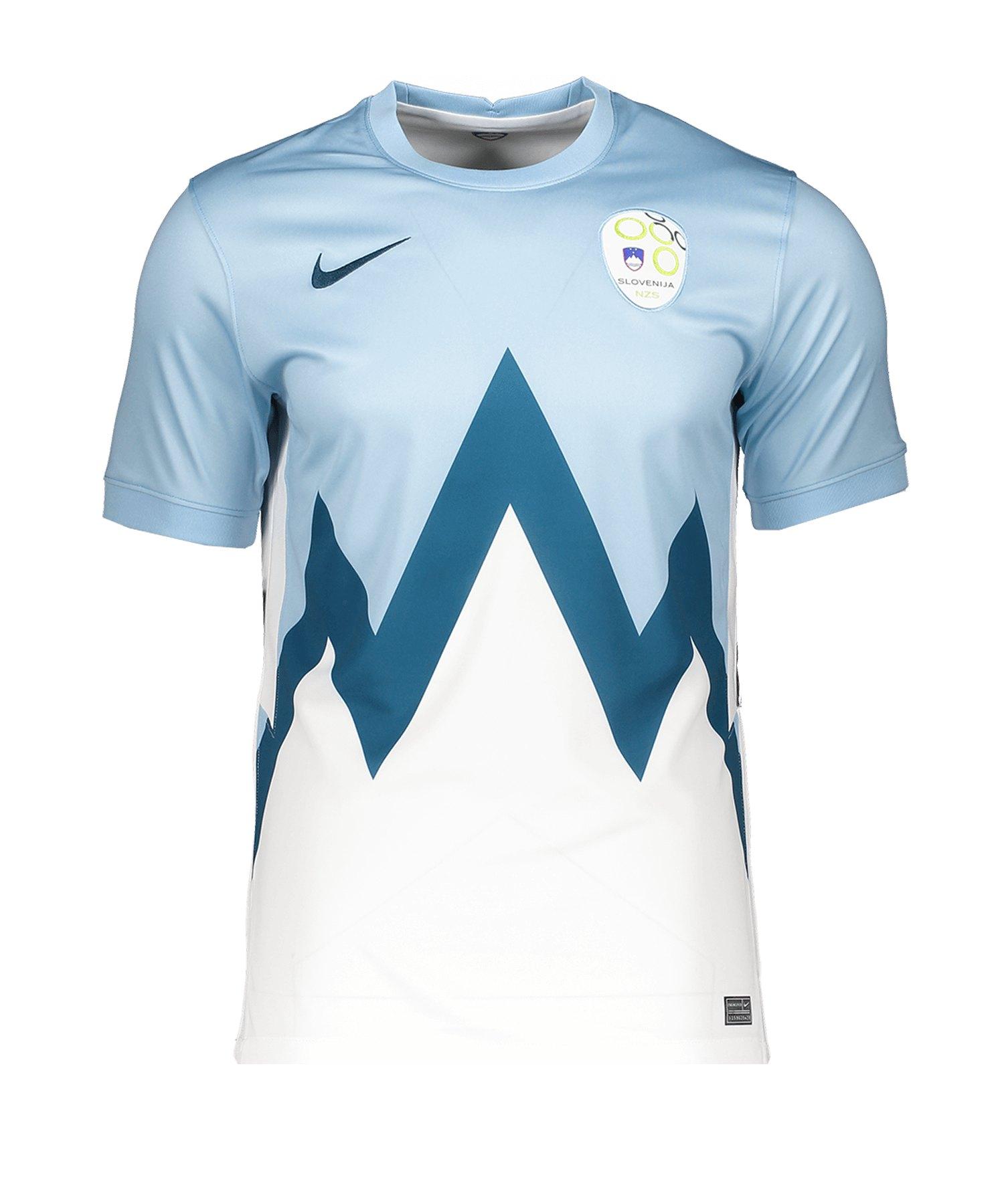 Nike Slowenien Trikot Home EM 2021 Blau F436 - blau