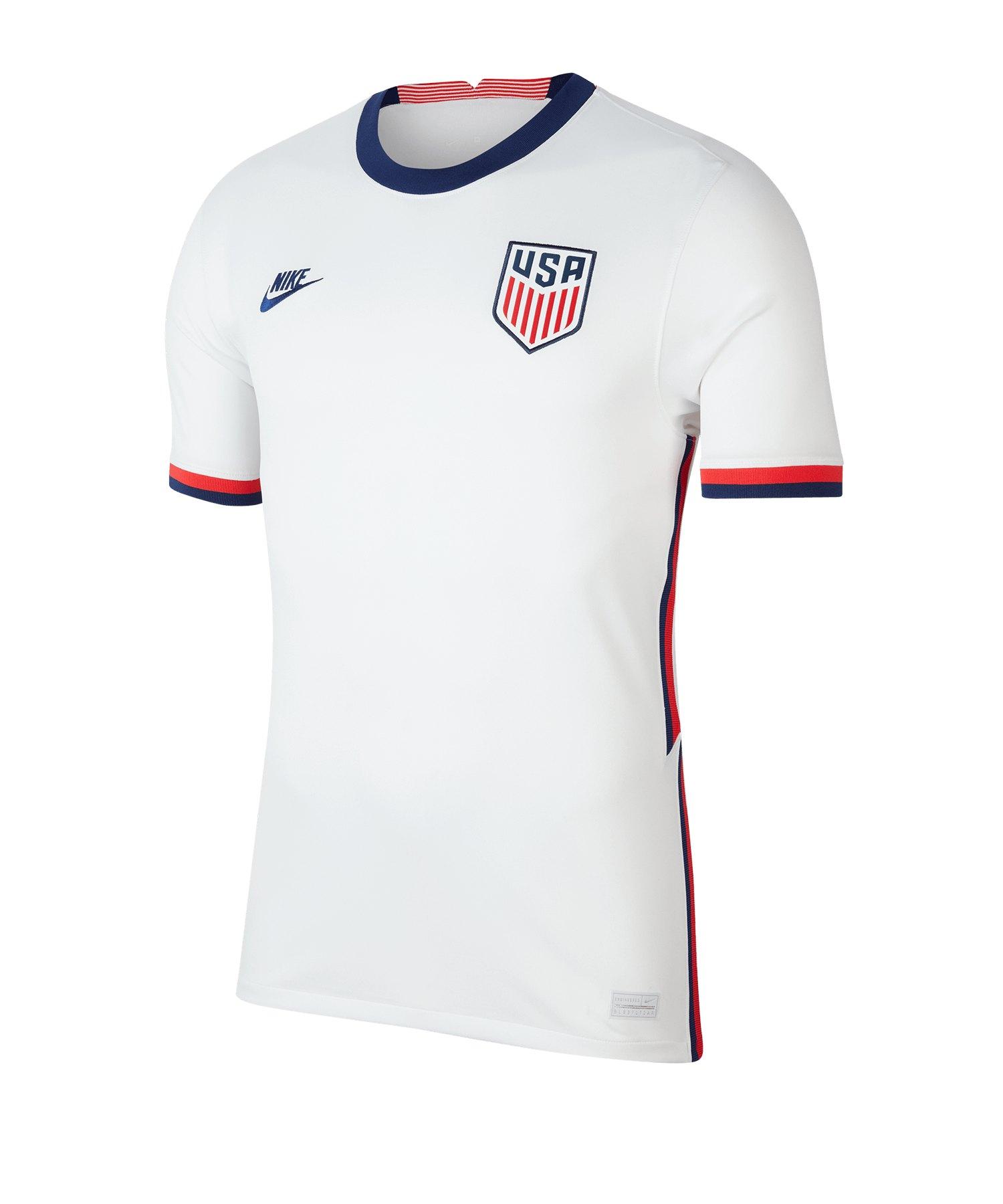 Nike USA Trikot Home 2020 Weiss F100 - weiss