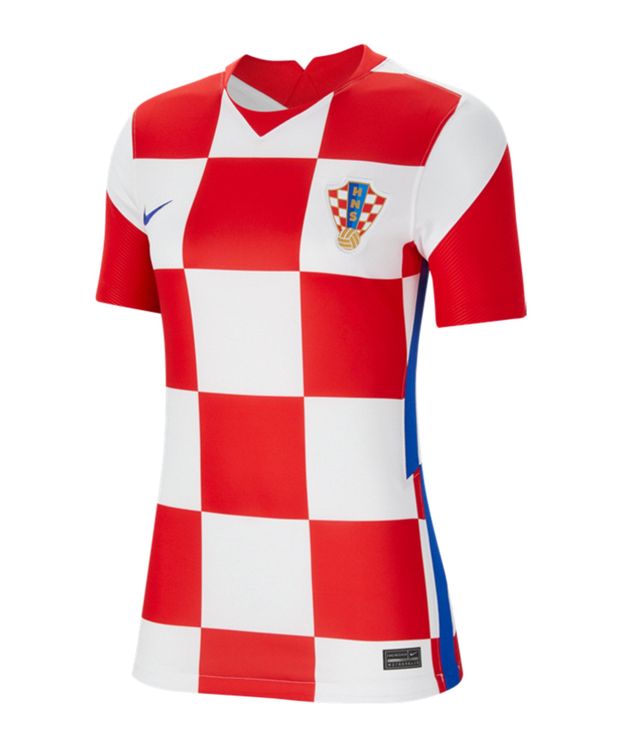 Nike Kroatien Trikot Home EM 2020 Damen F100 - weiss
