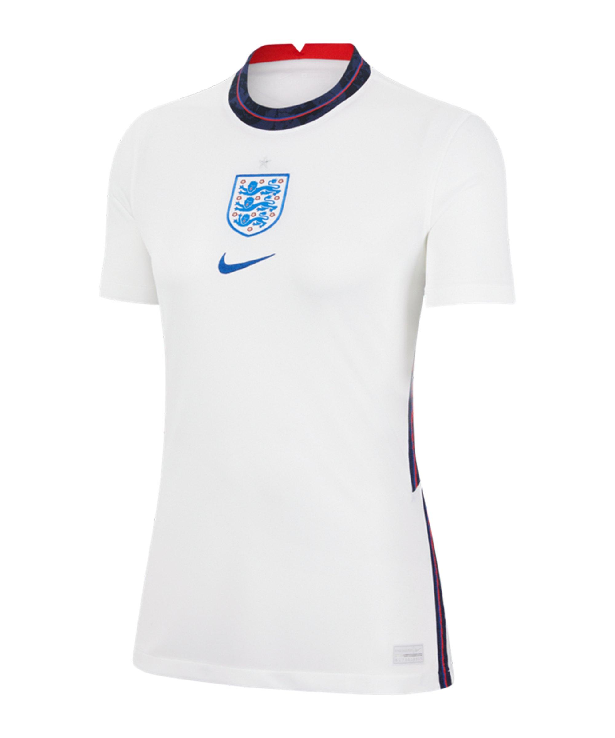 Nike England Trikot Home EM 2020 Damen F100 - weiss