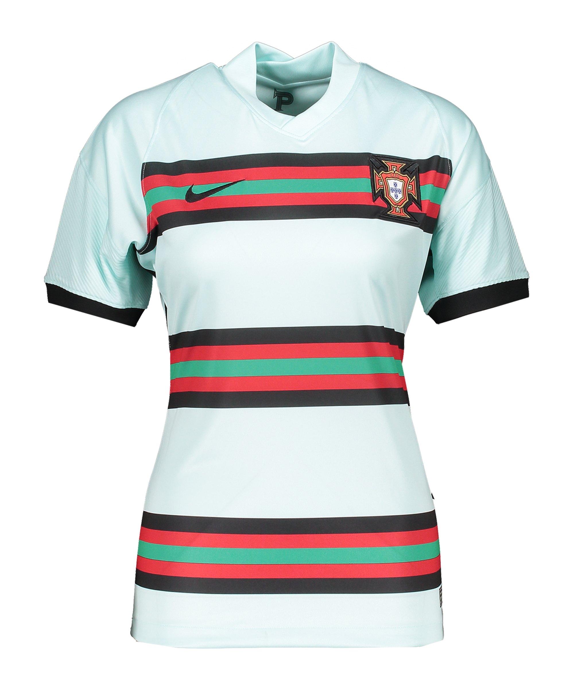 Nike Portugal Trikot Away EM 2020 Damen F336 - gruen