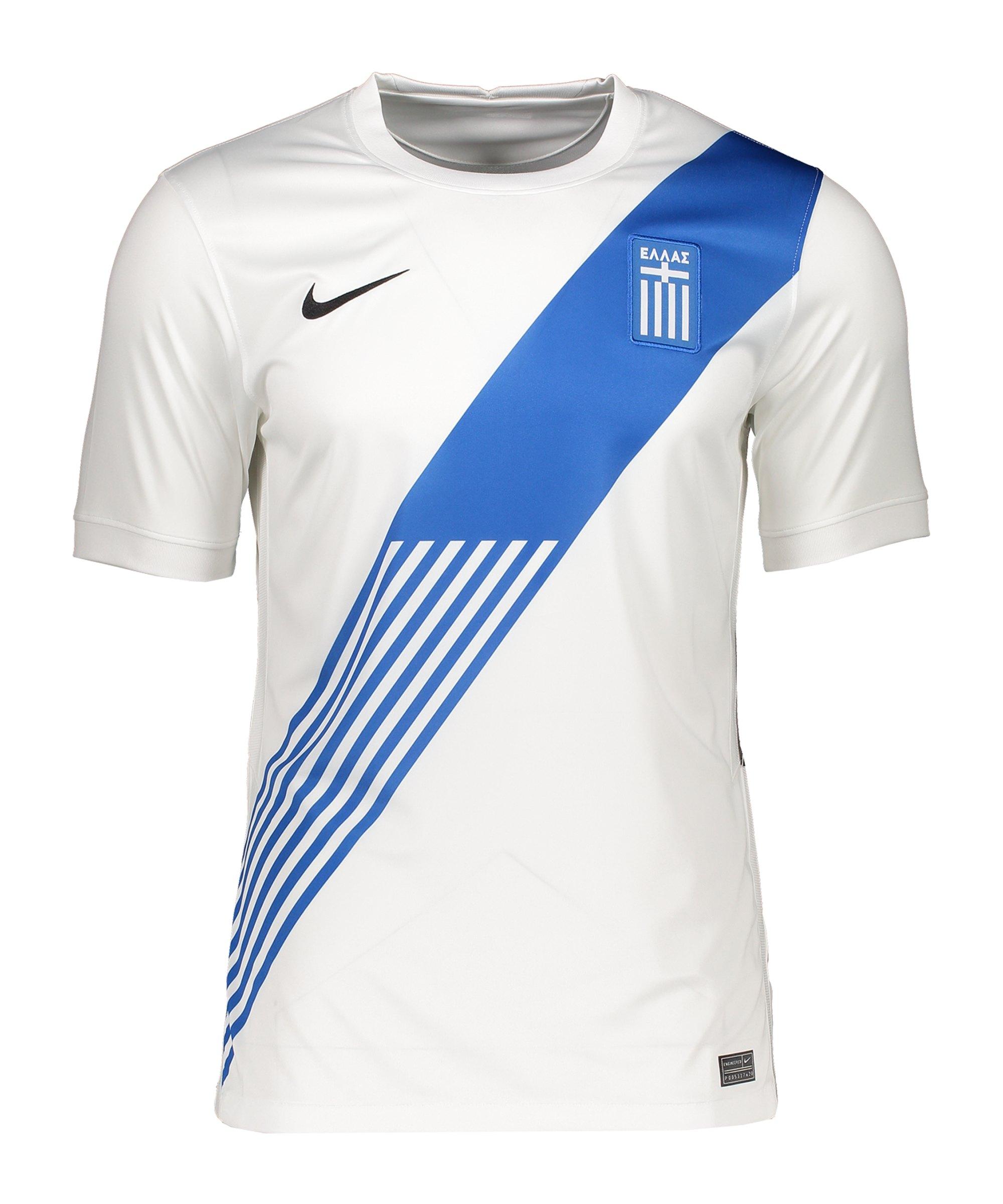 Nike Griechenland Trikot Home 2021 Kids F100 - weiss