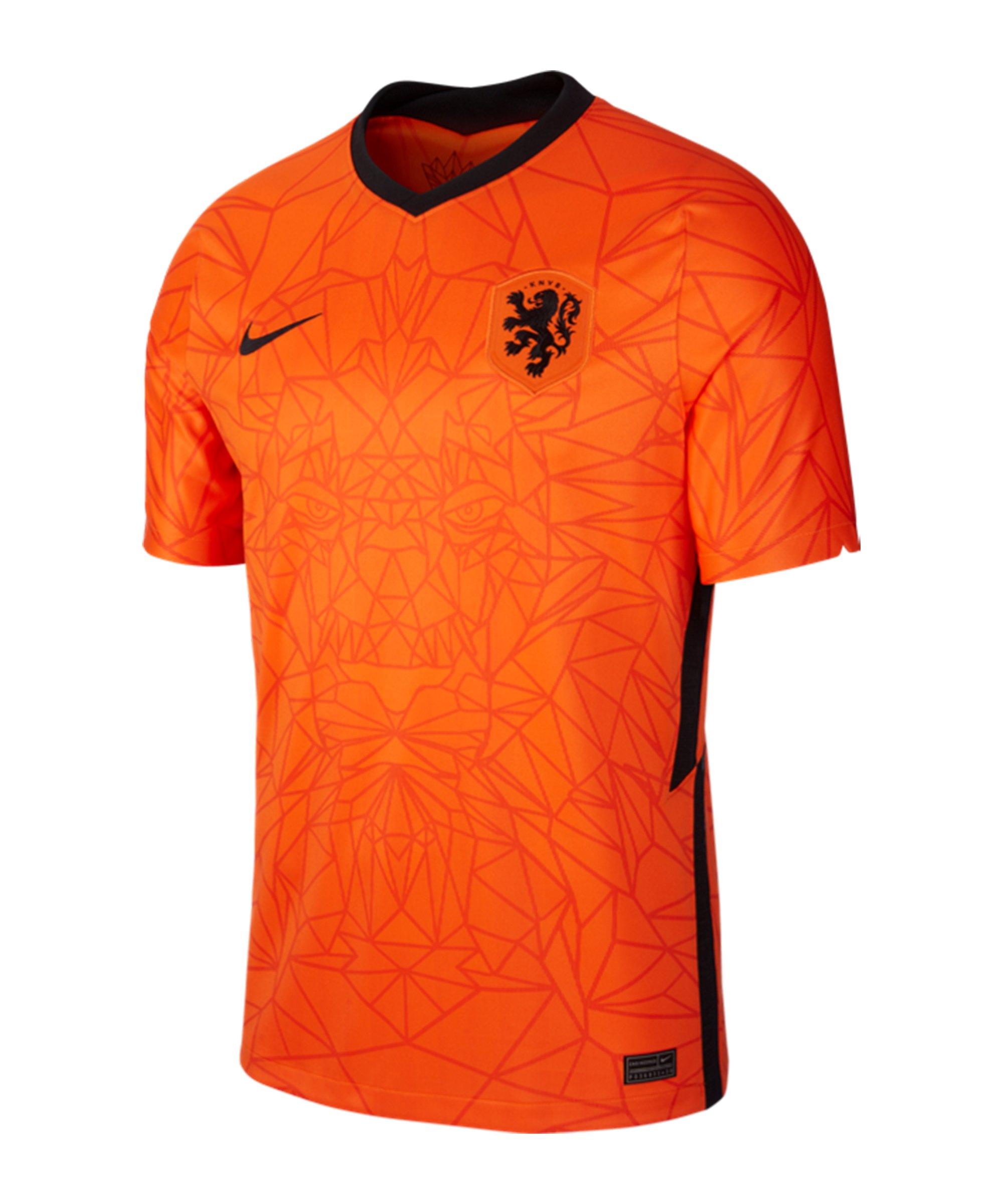 Nike Niederlande Trikot Home EM 2020 Kids F819 - orange
