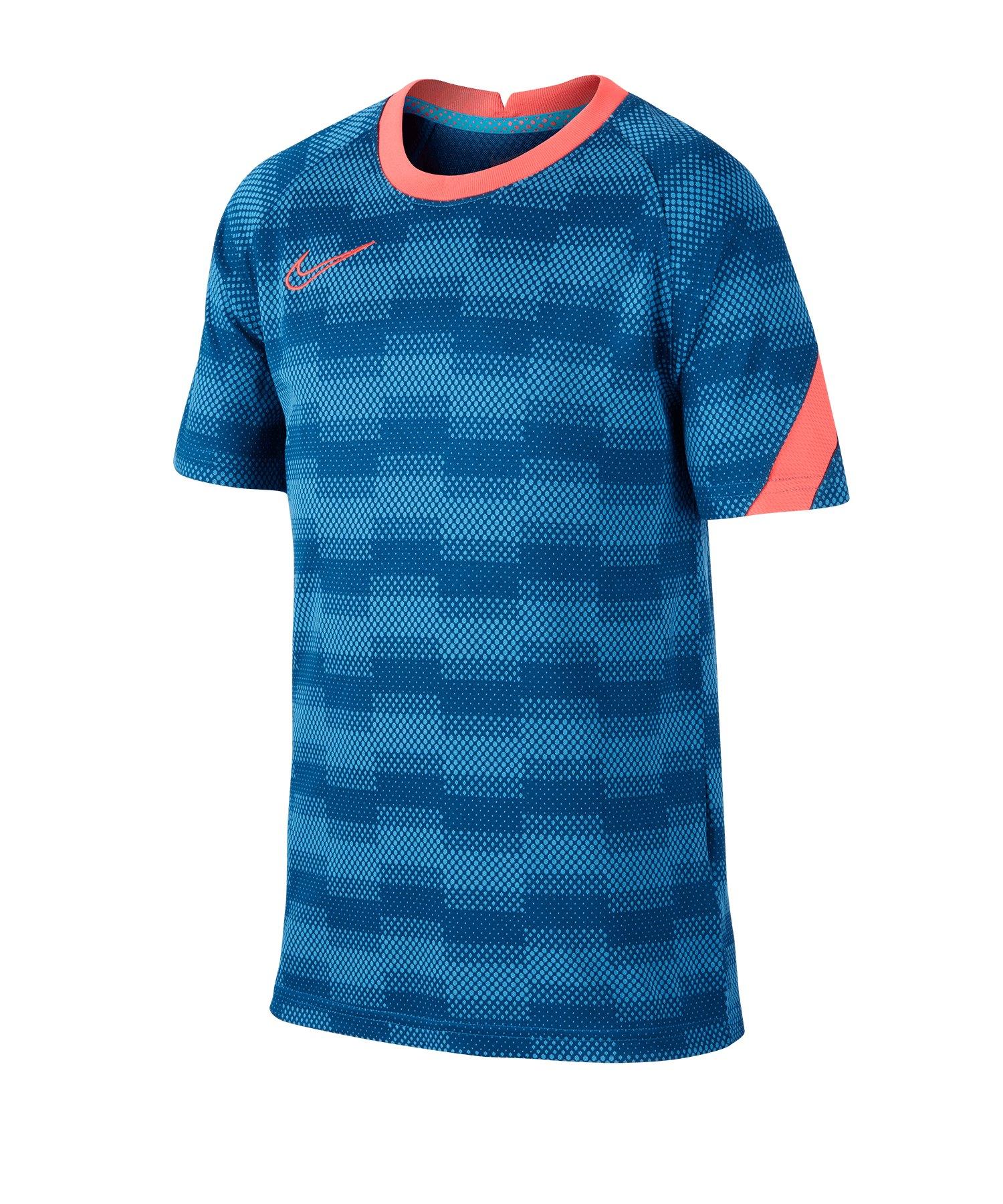 Nike Academy Shirt kurzarm Kids Blau F446 - blau