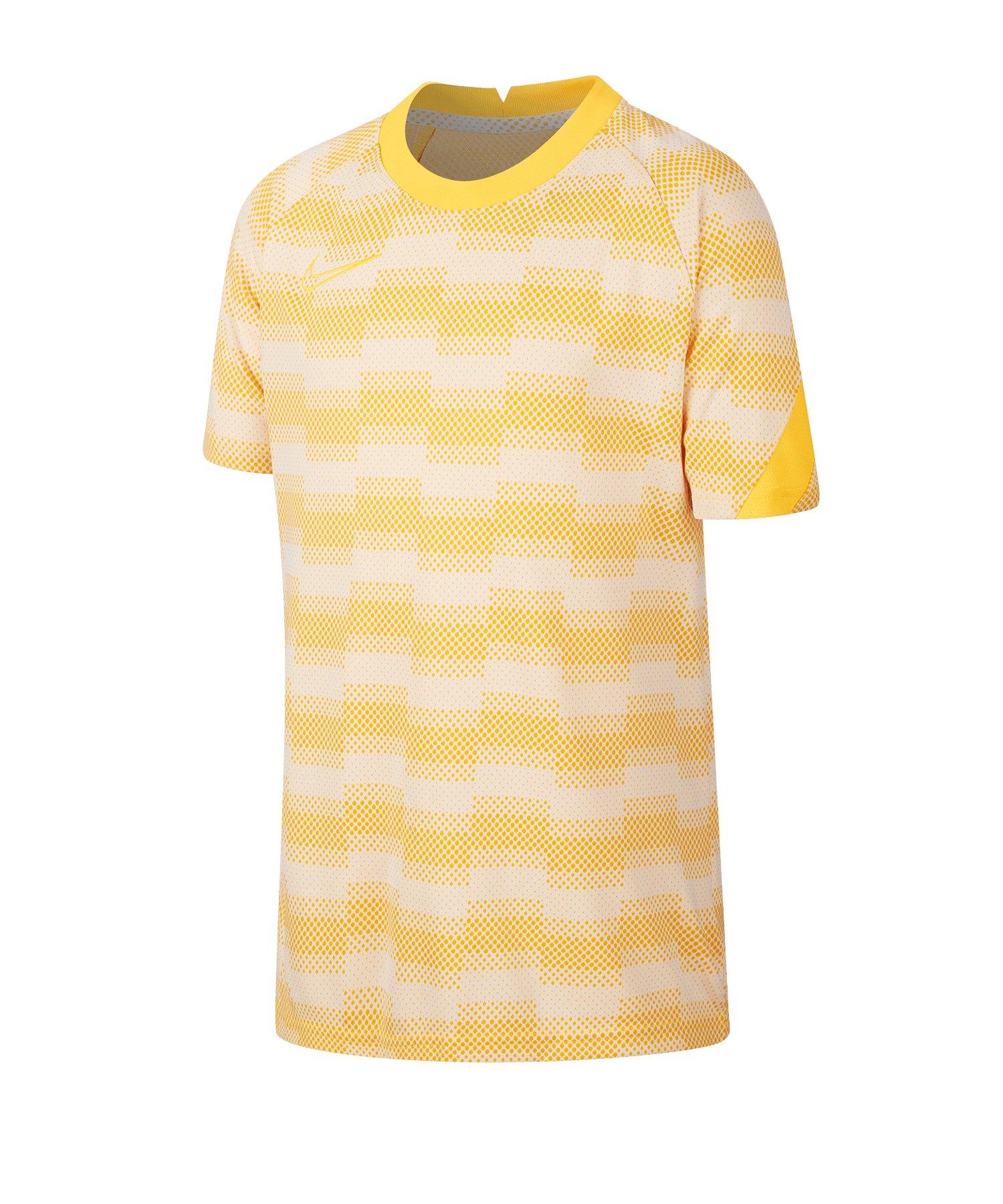 Nike Academy Shirt kurzarm Kids F043 - grau