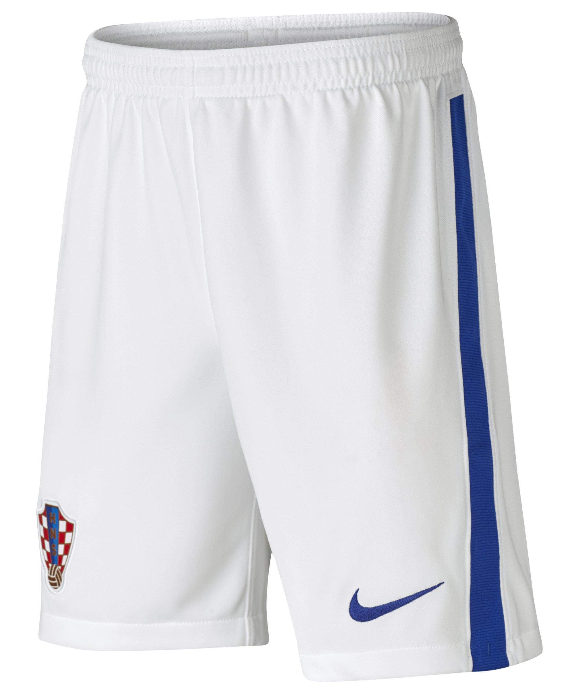 Nike Kroatien Short Home EM 2020 Kids Weiss F100 - weiss