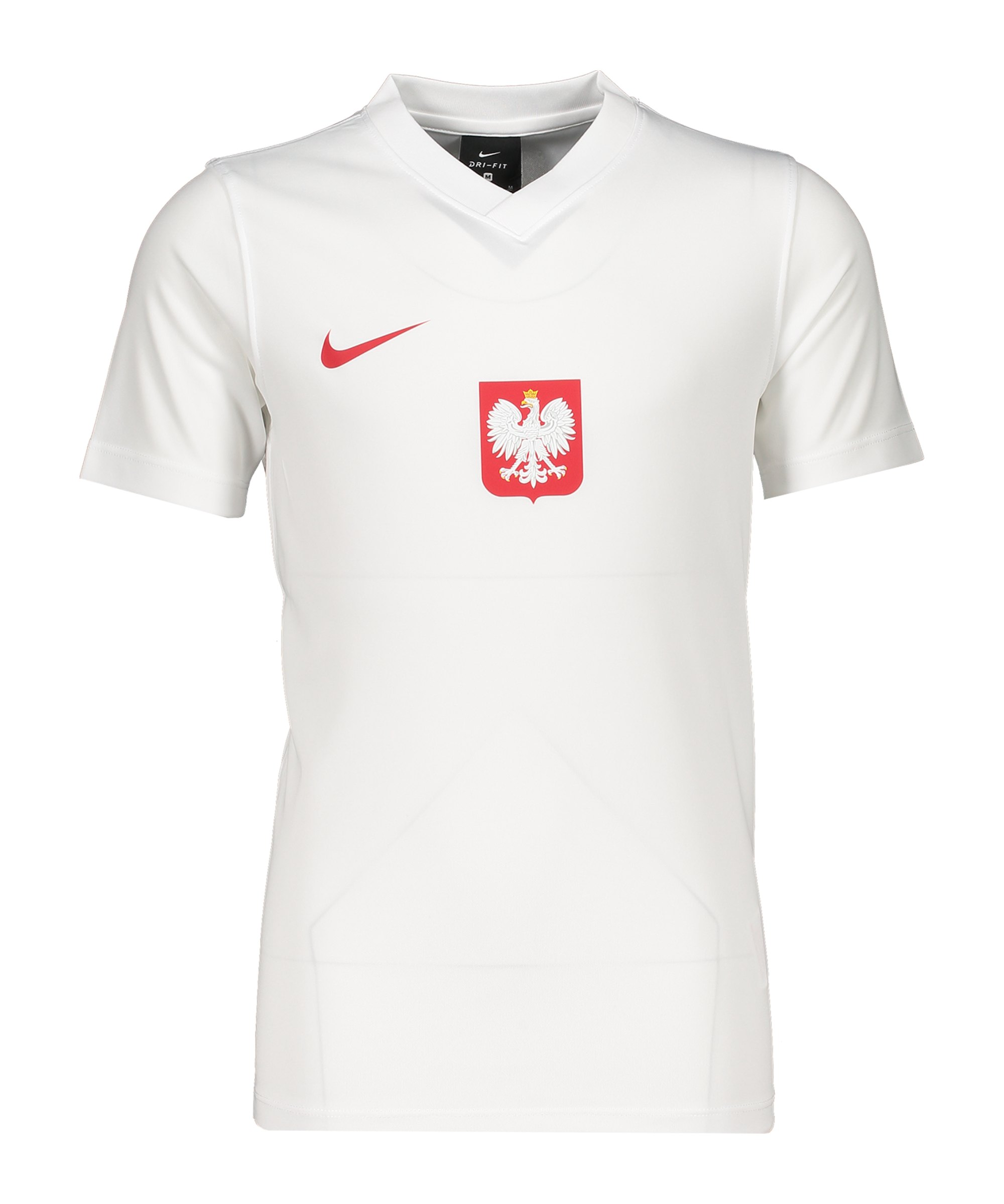 Nike Polen Trainingstop kurzarm Kids Weiss F100 - weiss