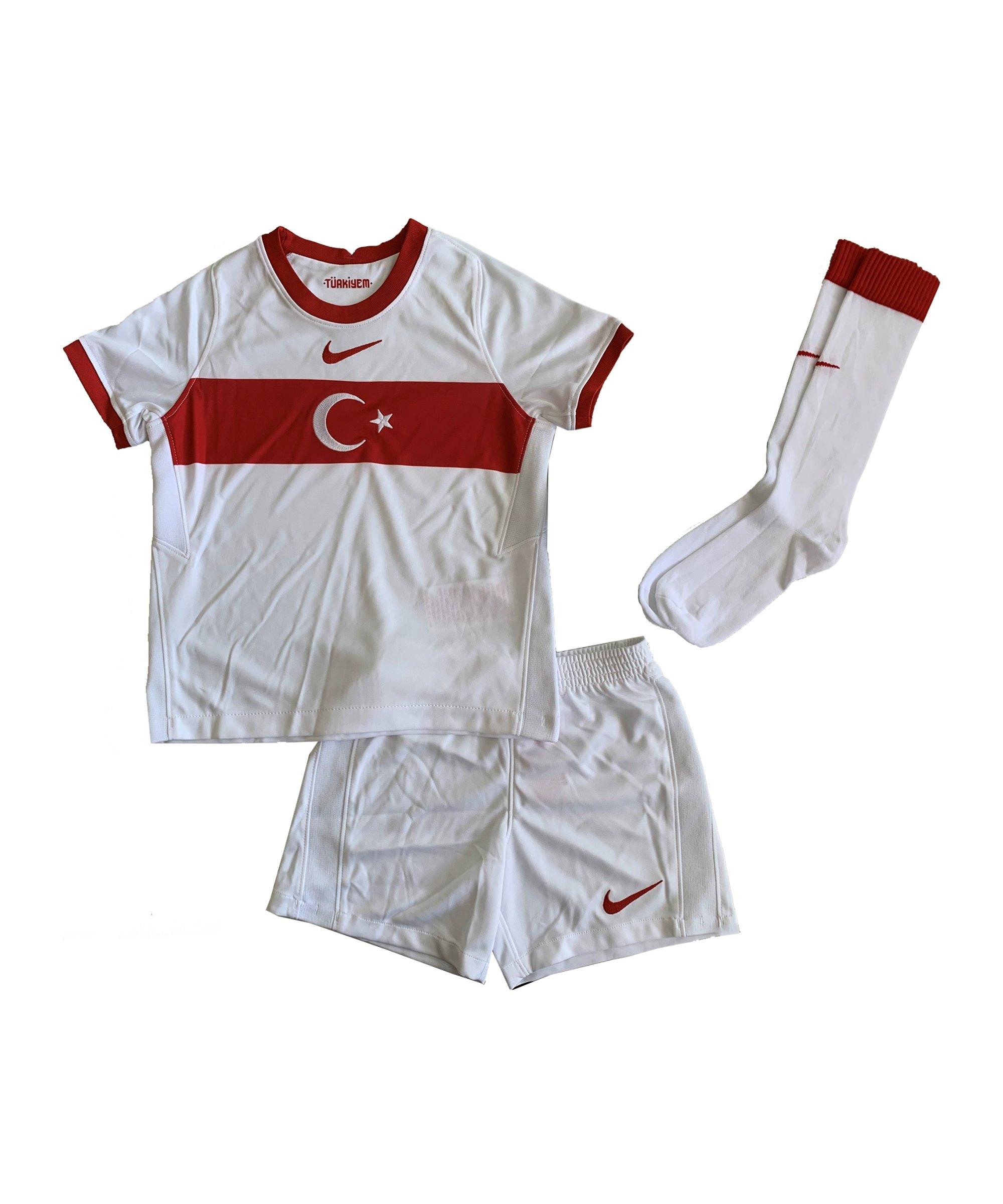 Nike Türkei Minikit Home EM 2021 F100 - weiss