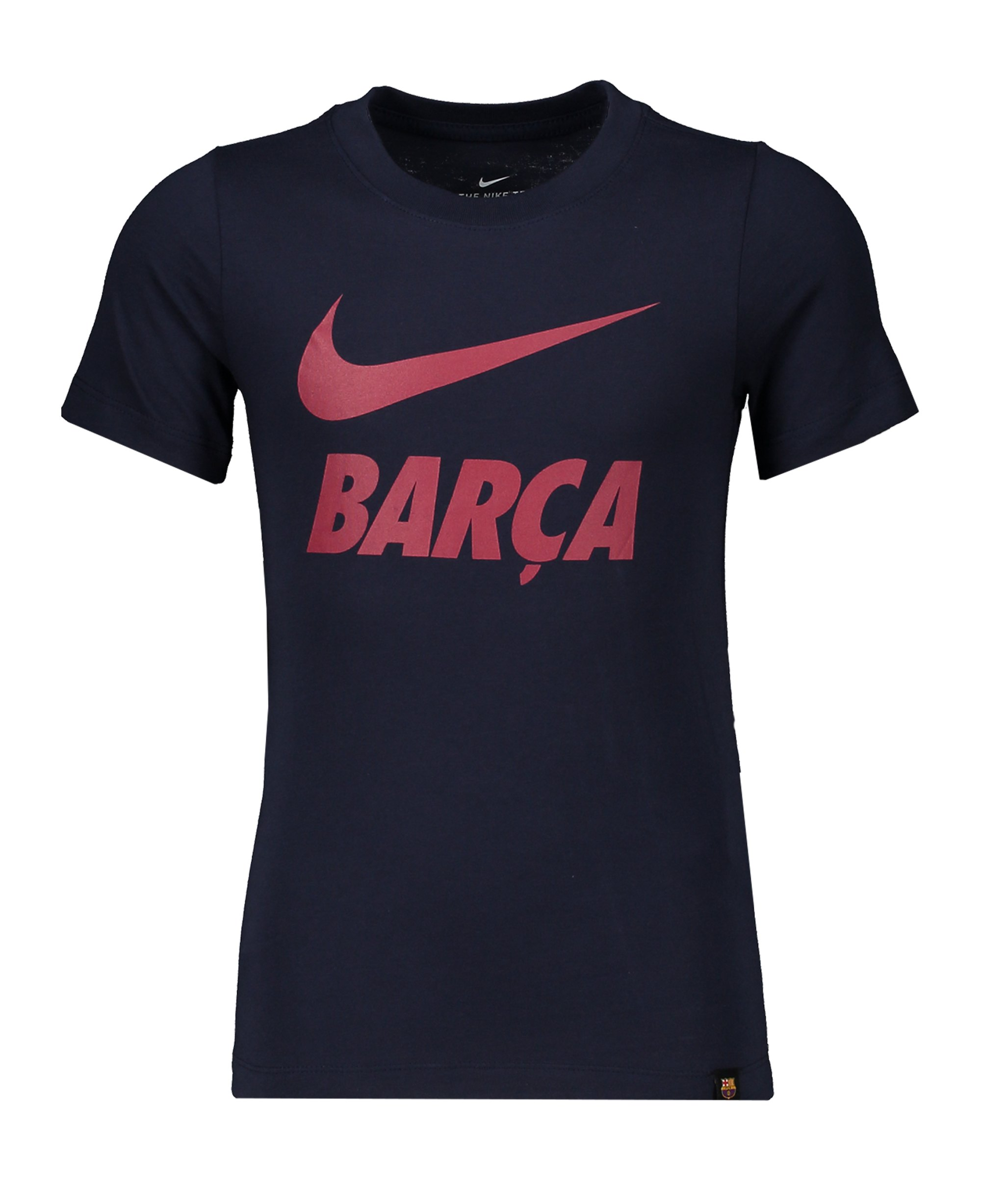 Nike FC Barcelona Tee Ground T-Shirt Kids F451 - grau