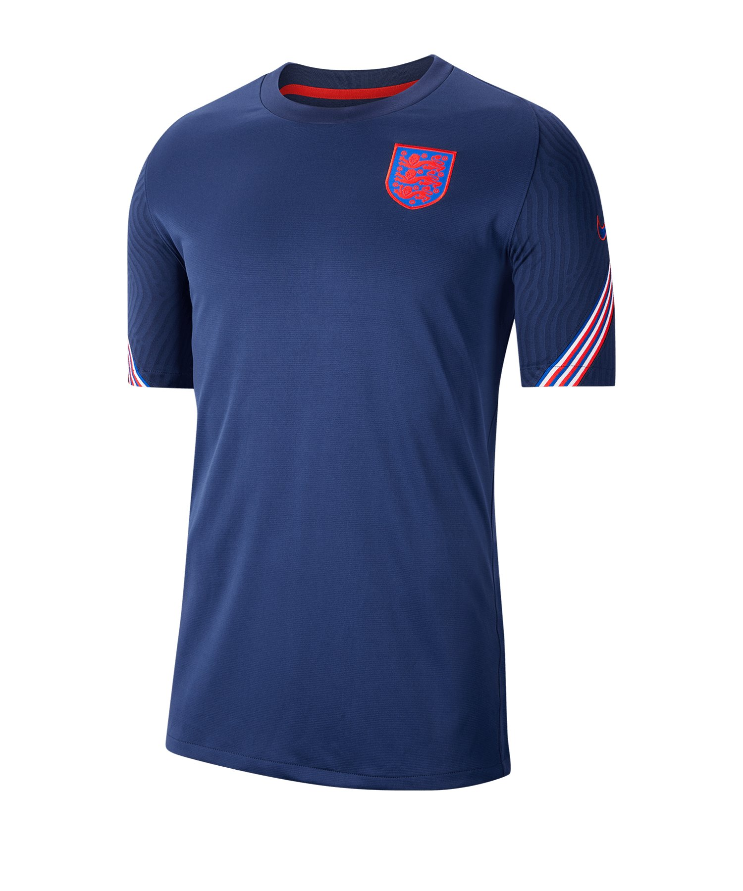 Nike England Strike Trainingstop kurzarm F412 - blau