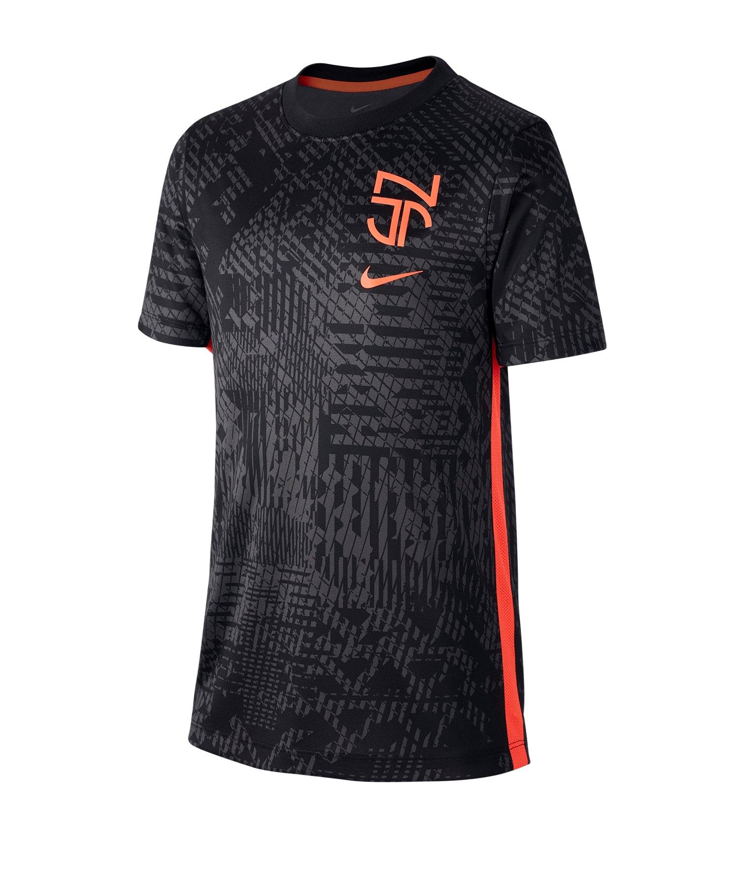 Nike Neymar Jr.T-Shirt Kids Schwarz F010 - schwarz