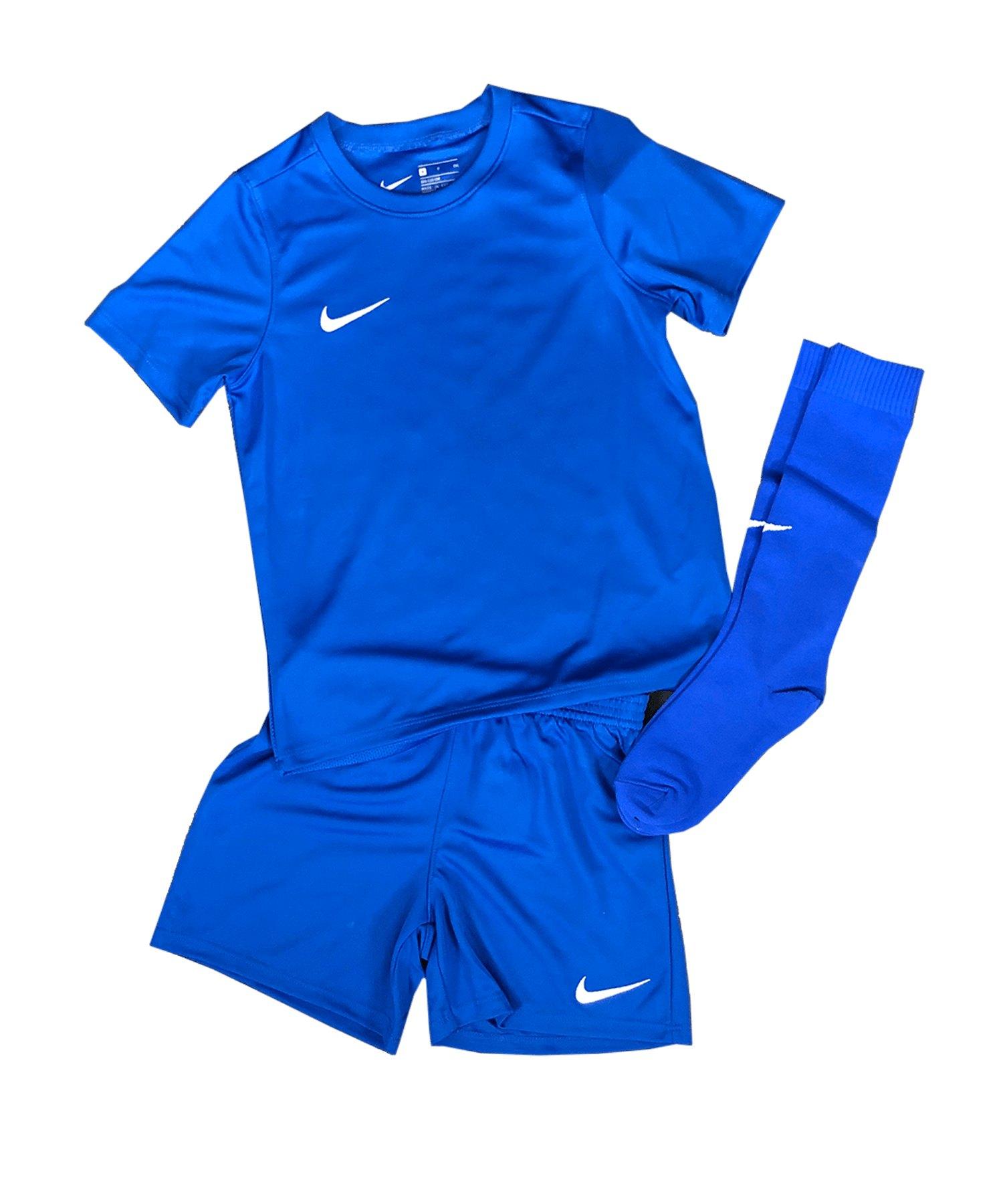 Nike Park 20 Kit Kids Blau F463 - blau