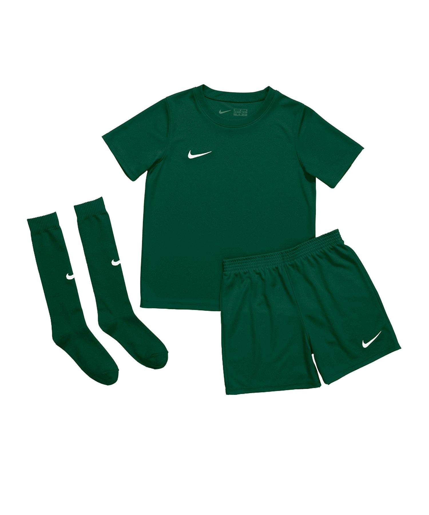 Nike Park 20 Kit Kids Grün F302 - gruen