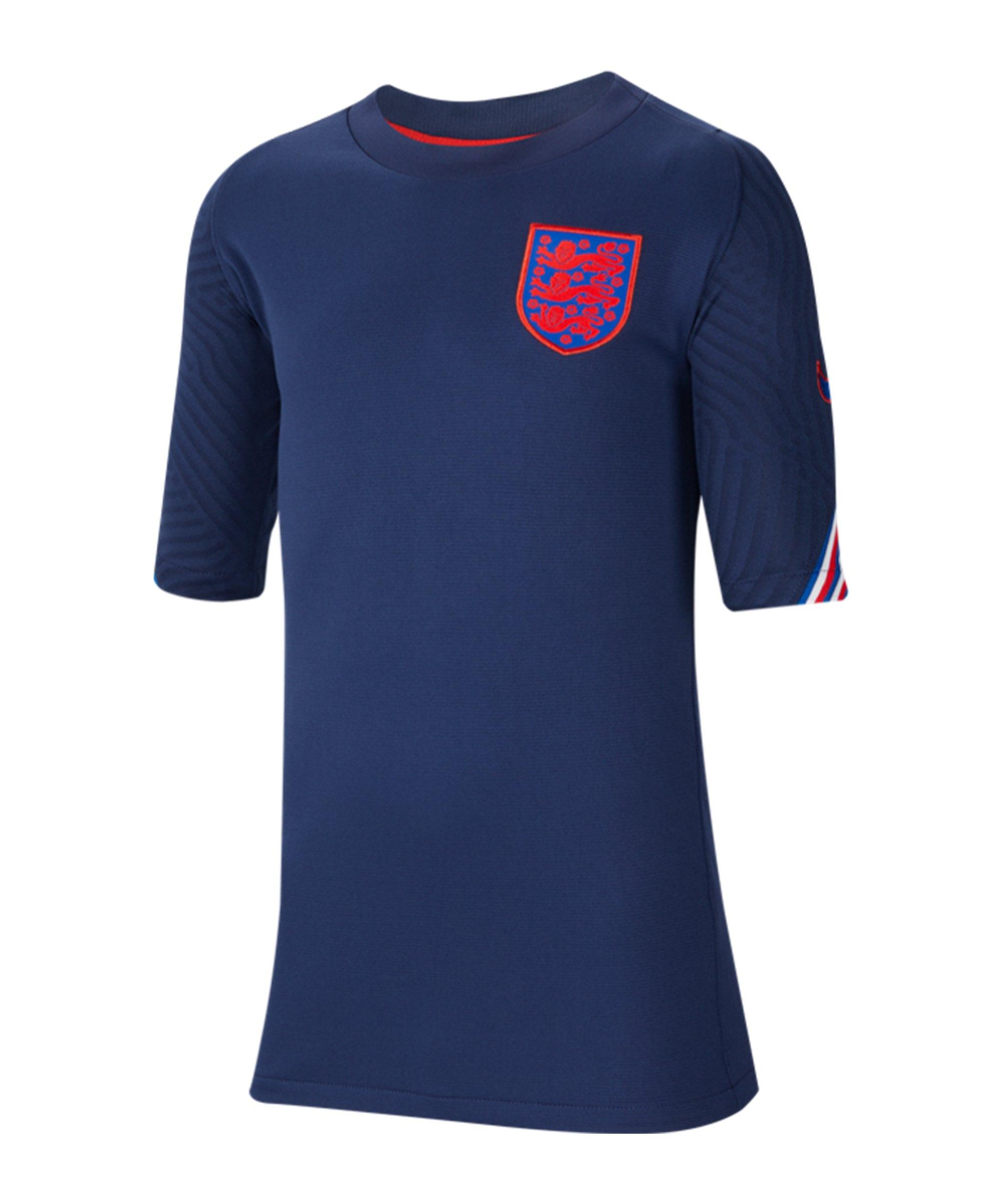 Nike England Strike Trainingstop kurzarm Kids F412 - blau