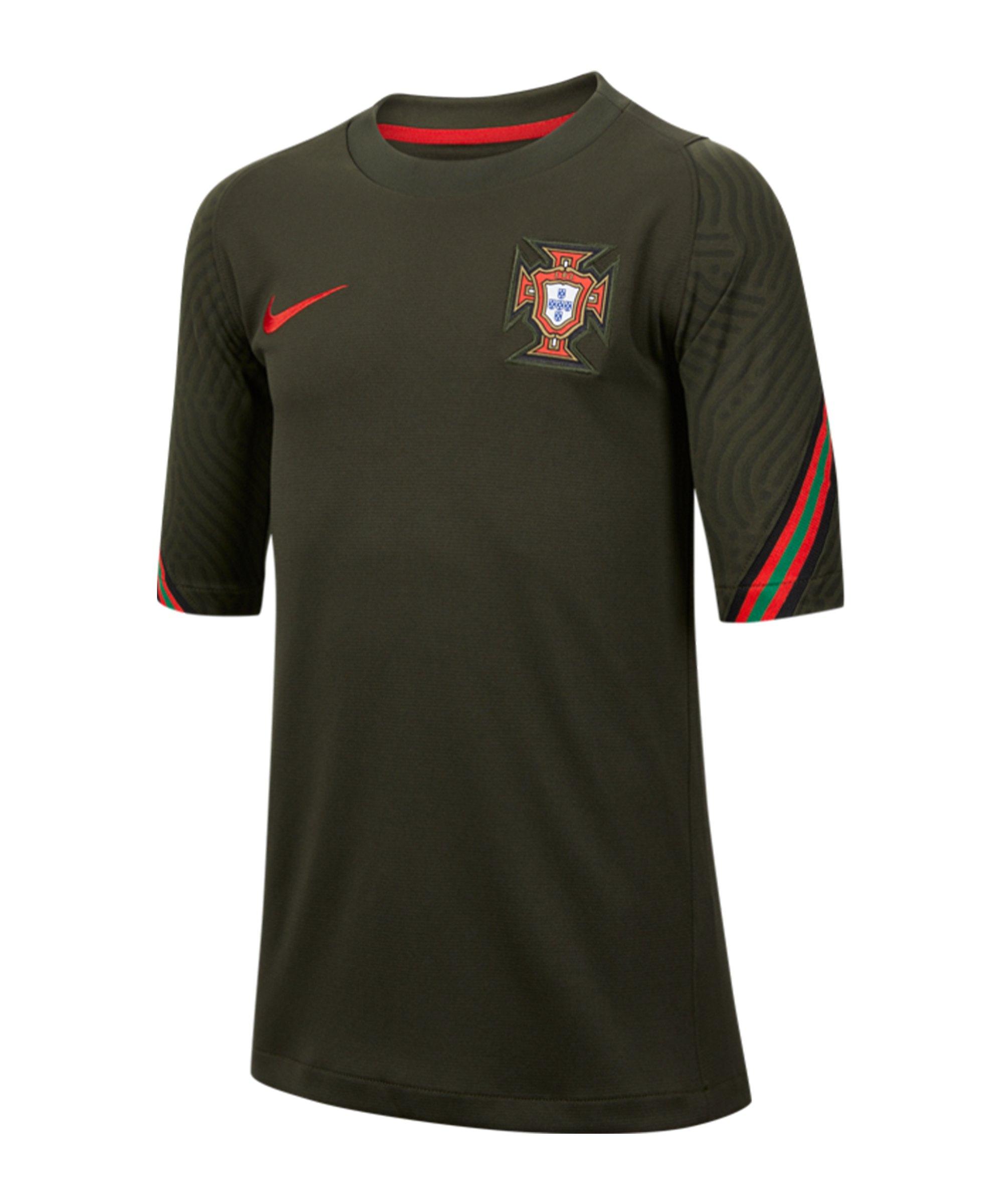 Nike Portugal Strike T-Shirt Kids F357 - gruen