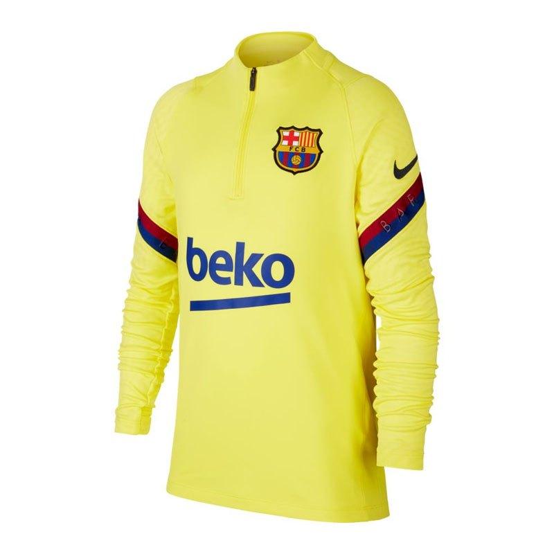 Nike FC Barcelona Strike Drill Top Kids F705 - gelb
