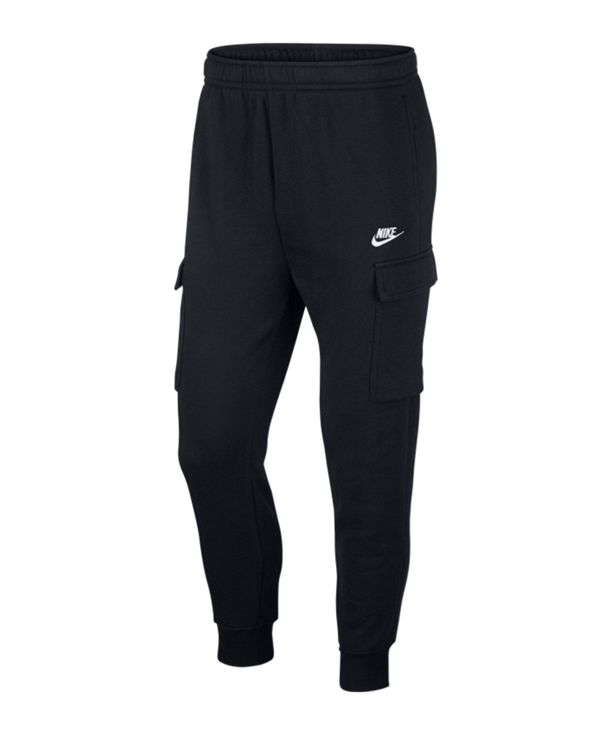 Nike Club Cargo Pant Schwarz F010 - schwarz