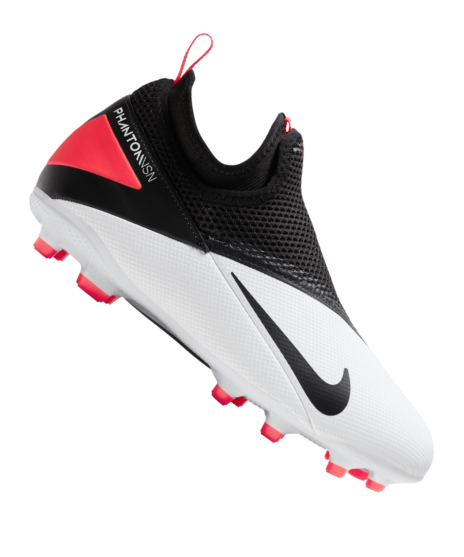 Nike Jr Phantom Vision II Player Inspired Academy FG Kids F106 - weiss