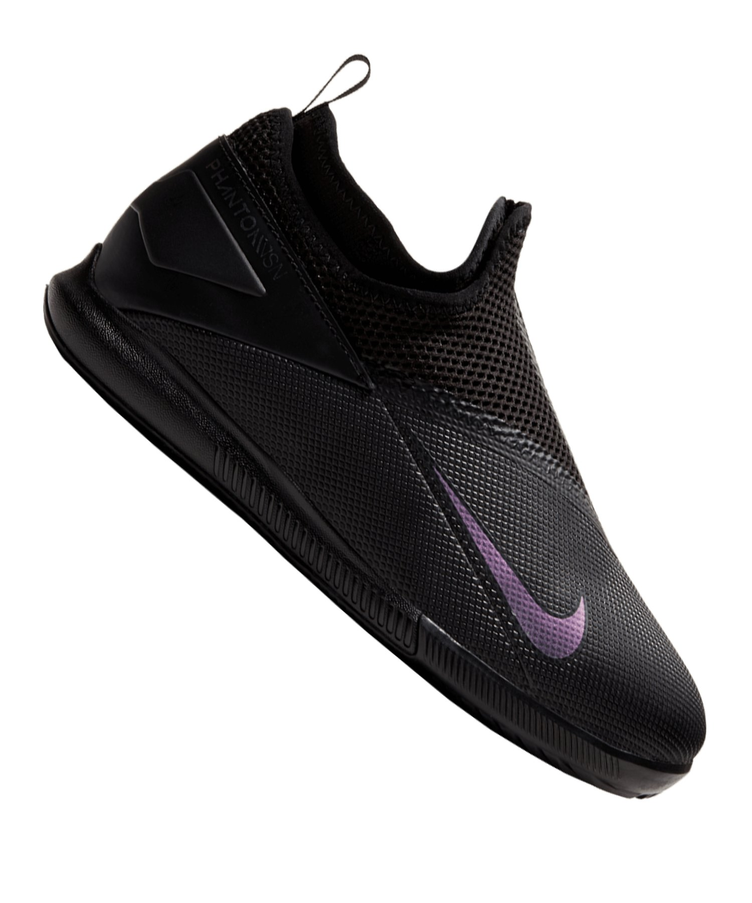 Nike Phantom Vision II Kinetic Black Academy DF IC Kids Schwarz F010 - schwarz