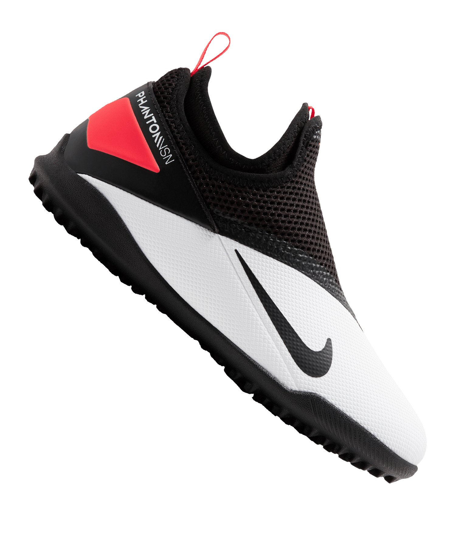 Nike Jr Phantom Vision II Academy DF TF Kids F106 - weiss