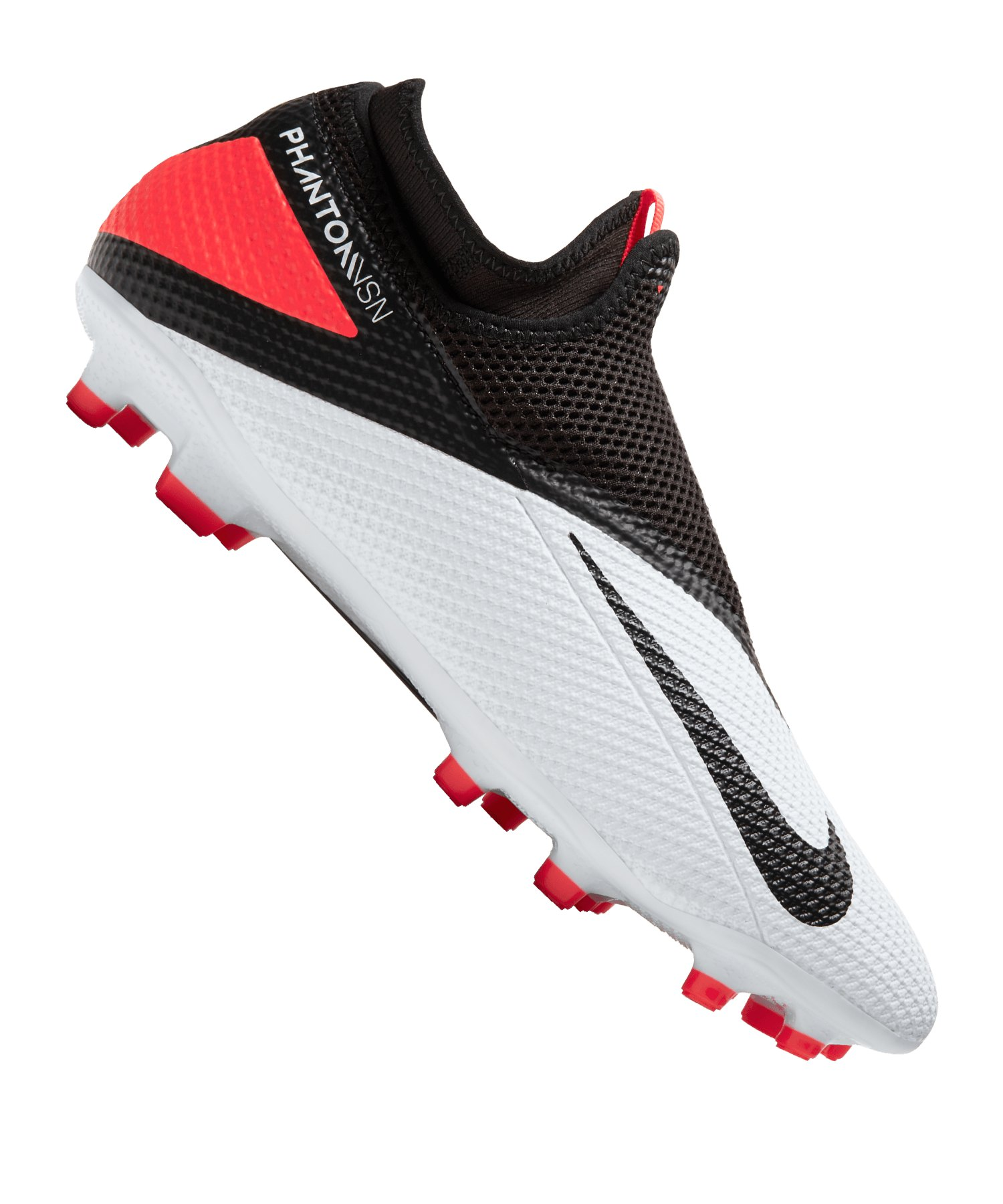 Nike Phantom Vision II Player Inspired Academy FG Weiss F106 - weiss