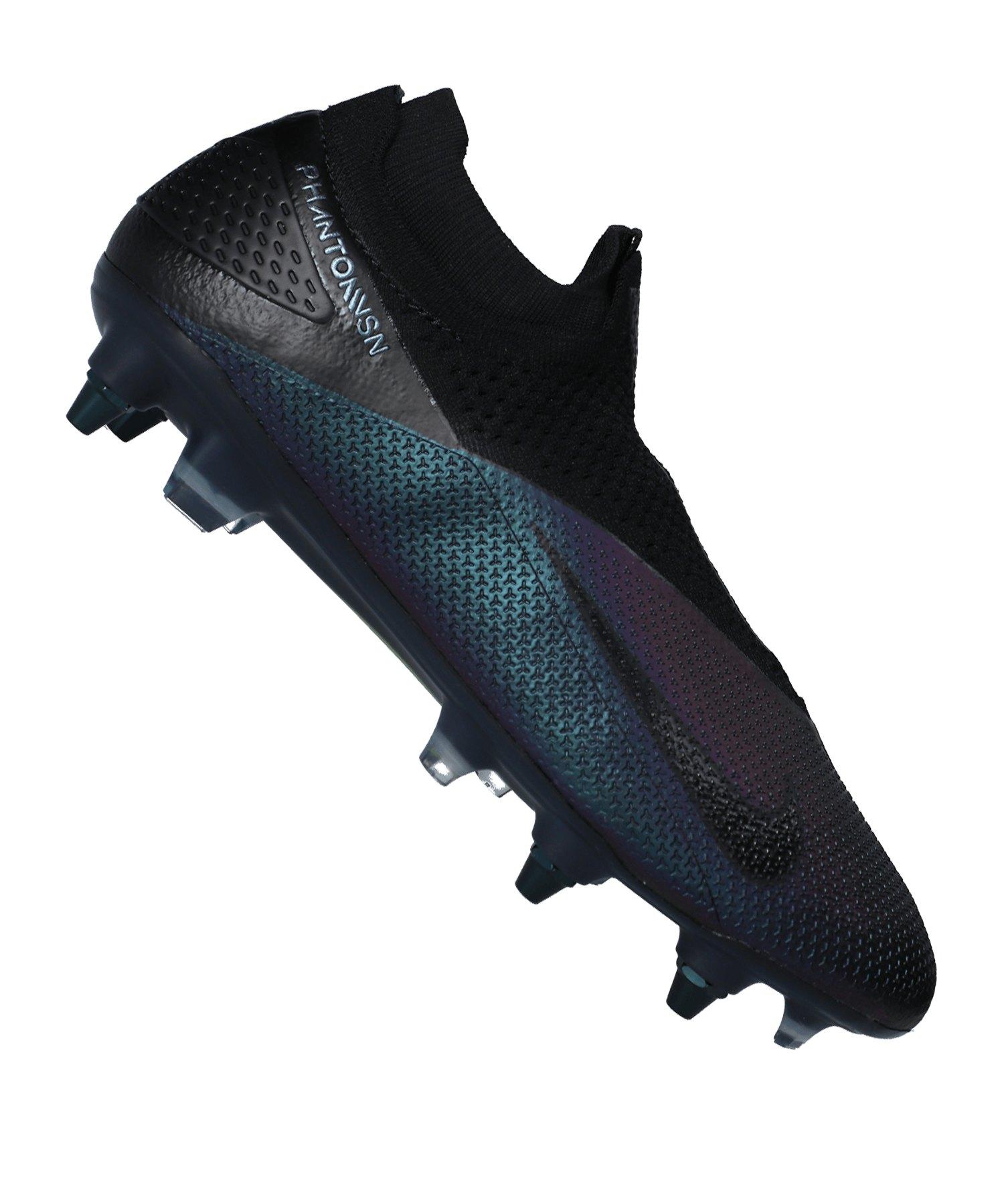 Nike Phantom Vision II Kinetic Black Elite DF SG-Pro AC Schwarz F010 - schwarz