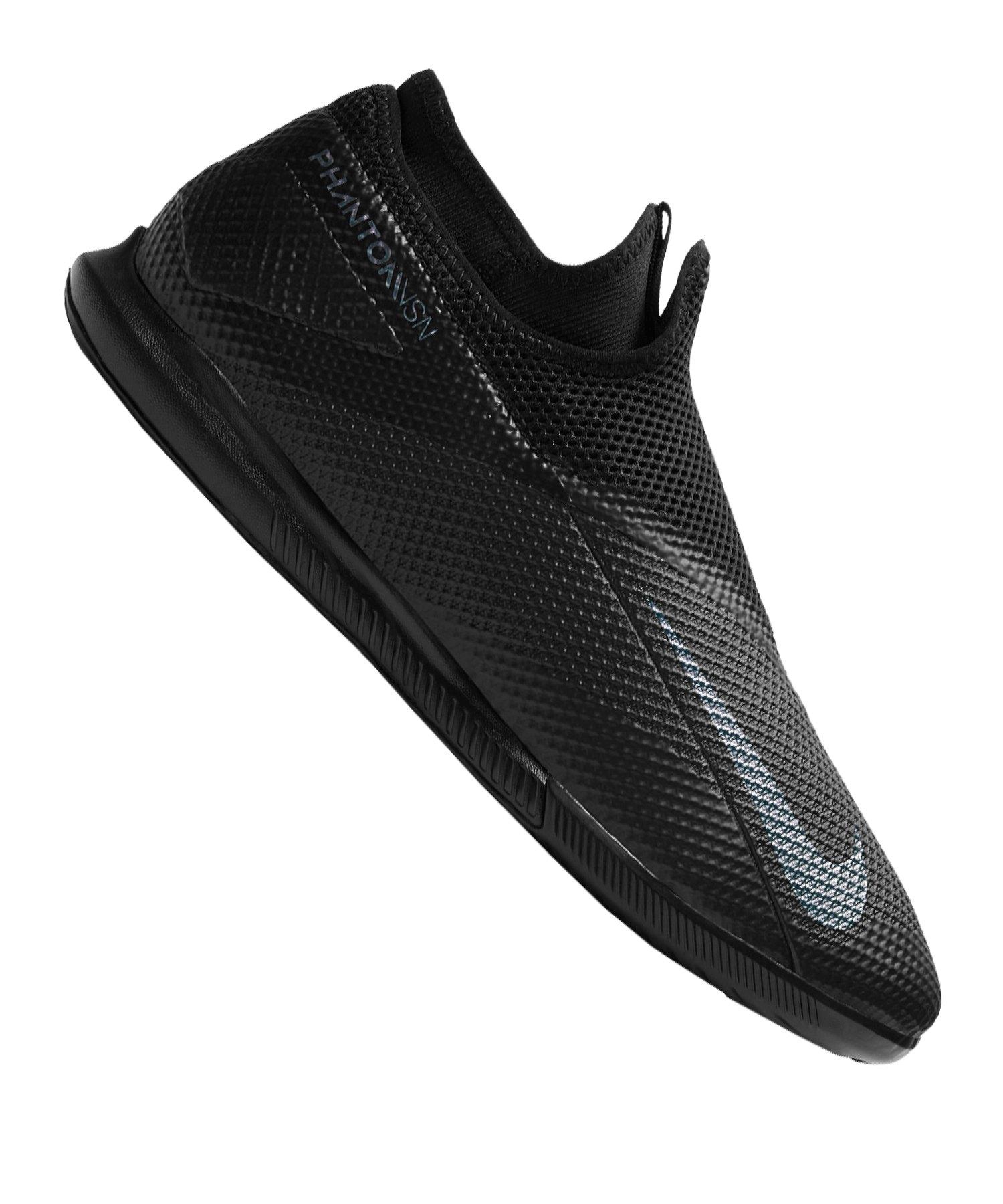 Nike Phantom Vision II Kinetic Black Academy DF IC Schwarz F010 - schwarz